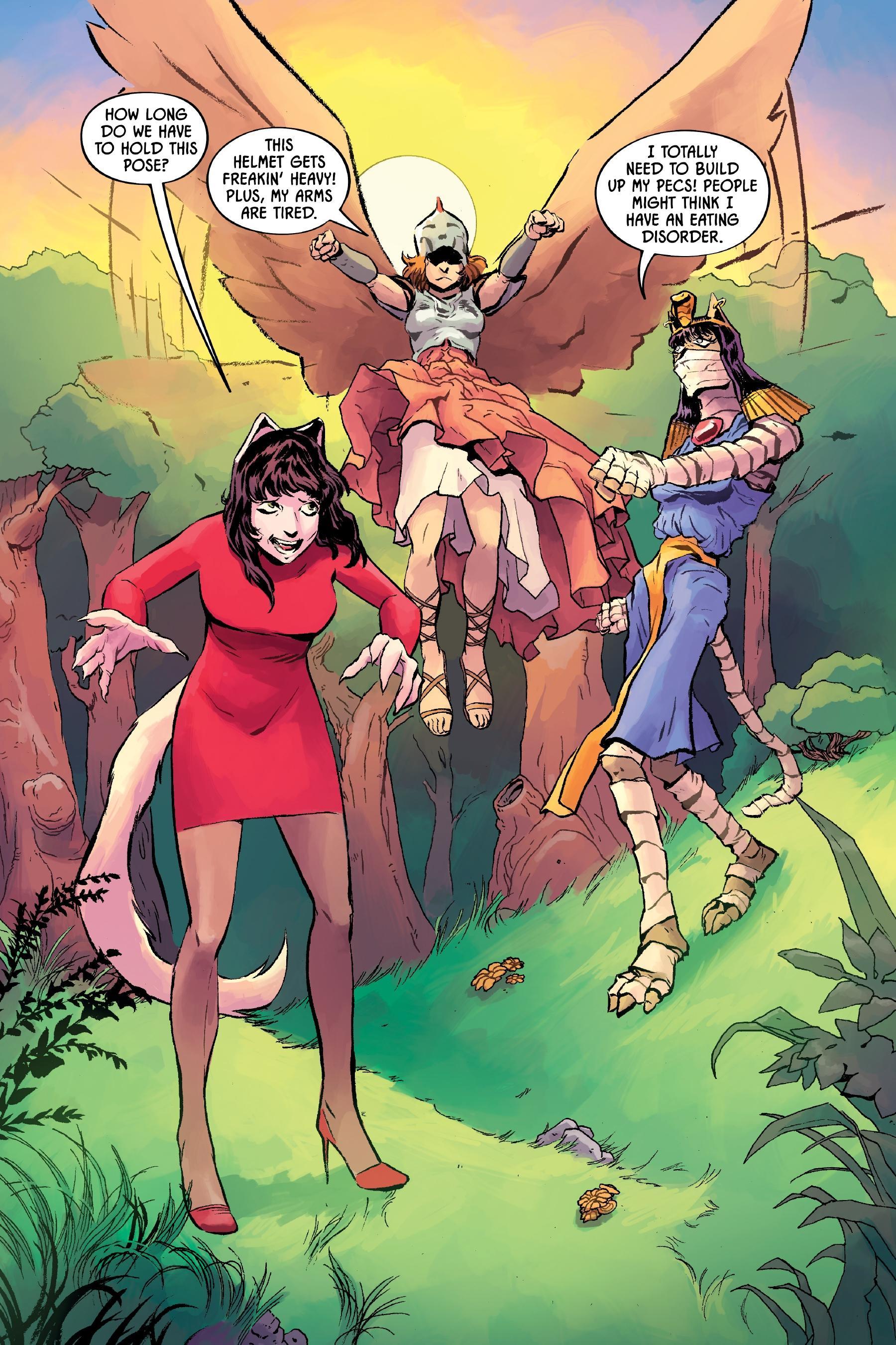Angel Catbird V3 The Catbird Roars review