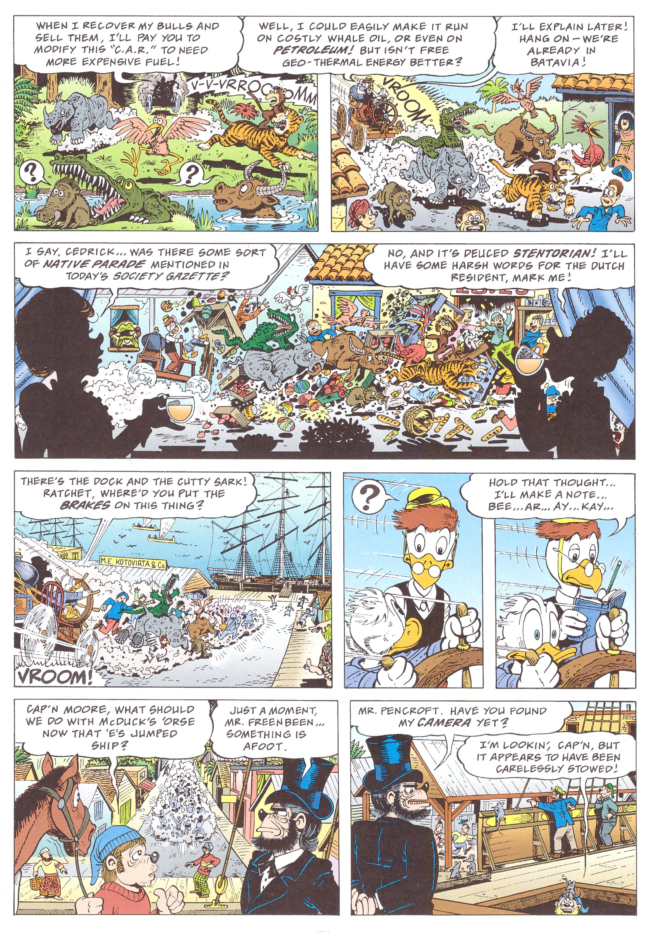 Uncle Scrooge by Don Rosa Escape from Forbidden Valley review