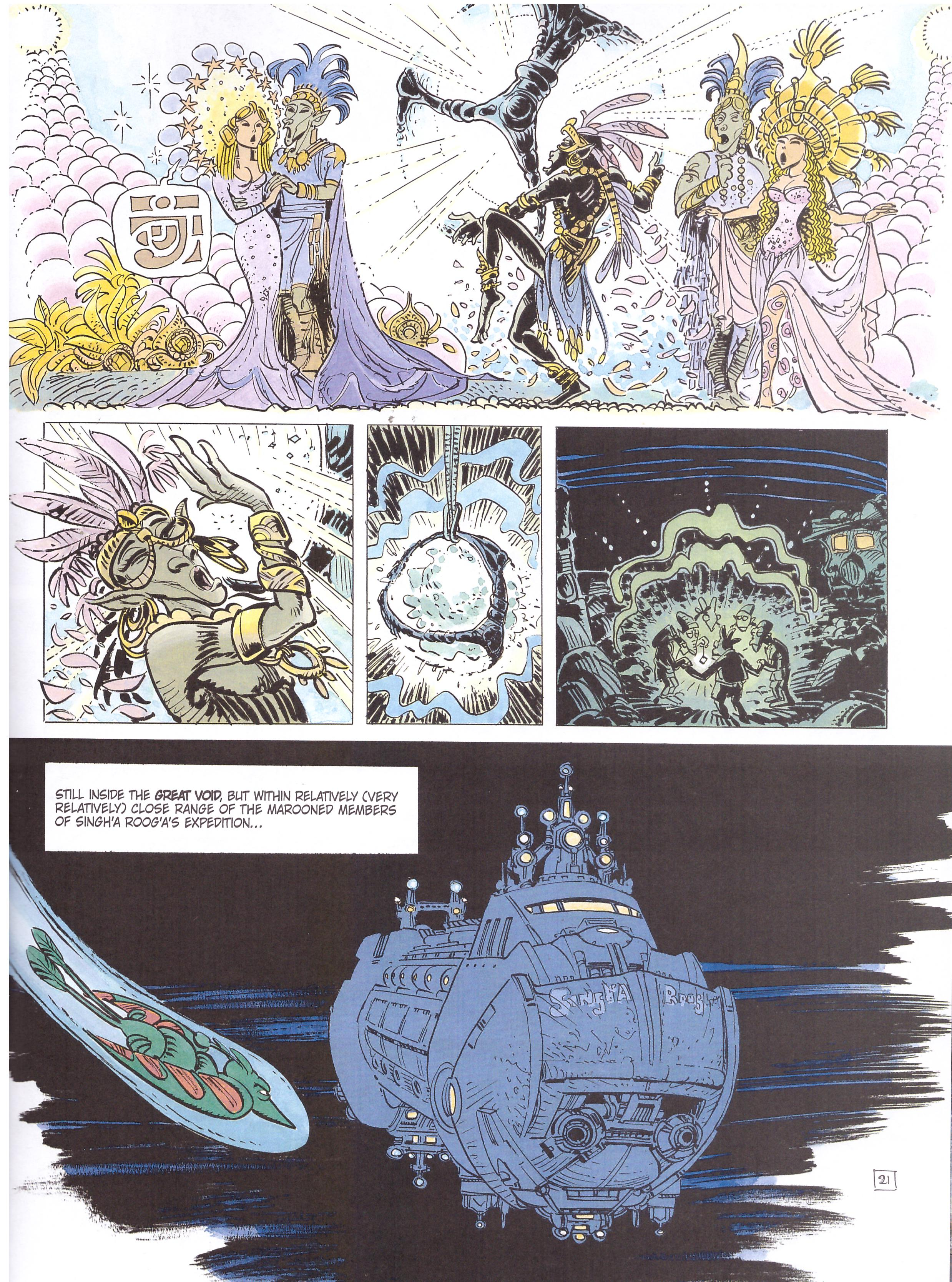 Valerian and Laureline the Order of the Stones review
