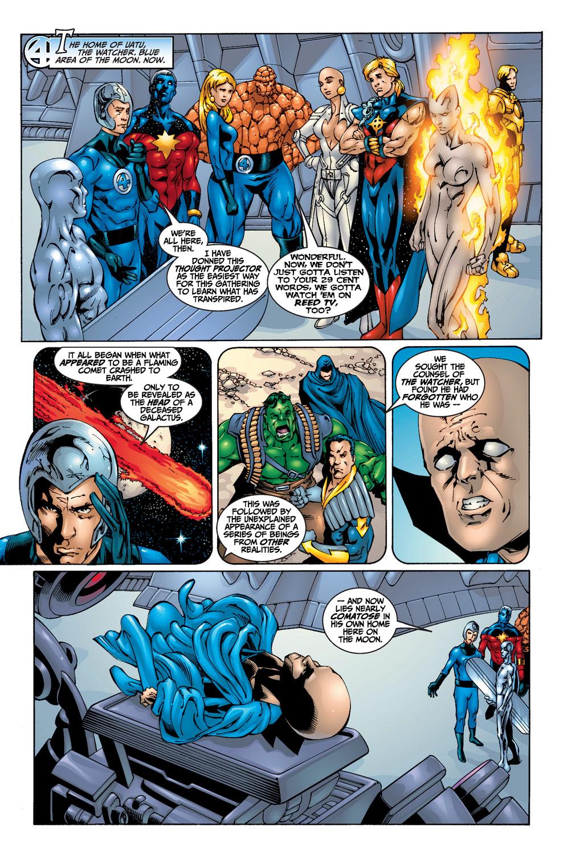 Fantastic Four Resurrection of Galactus review