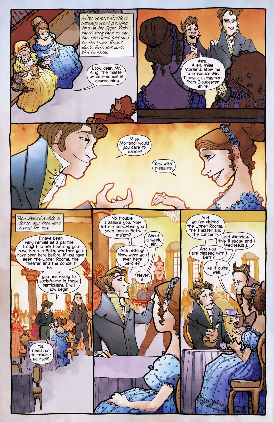 Northanger Abbey graphic novel review