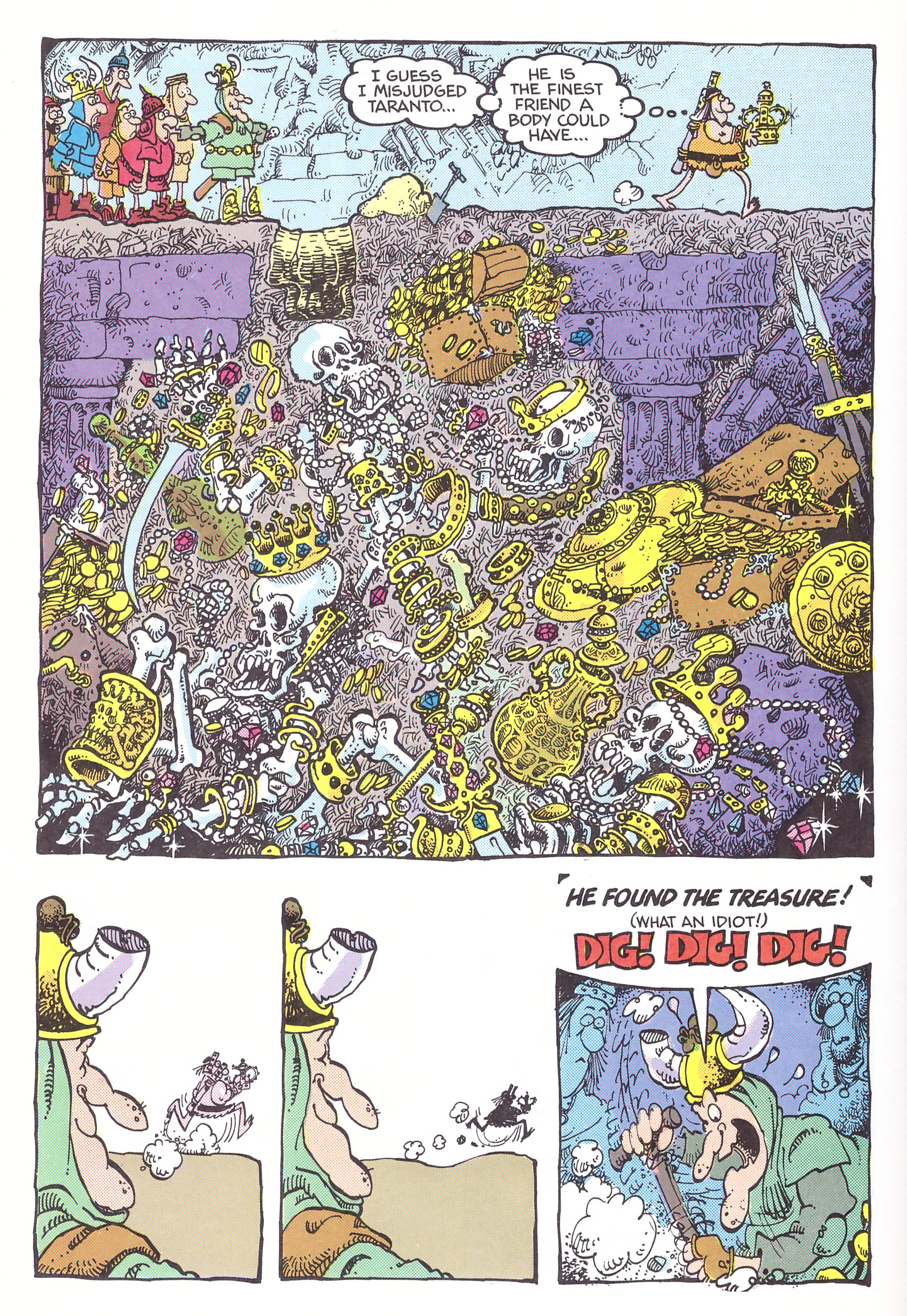 The Groo Bazaar review