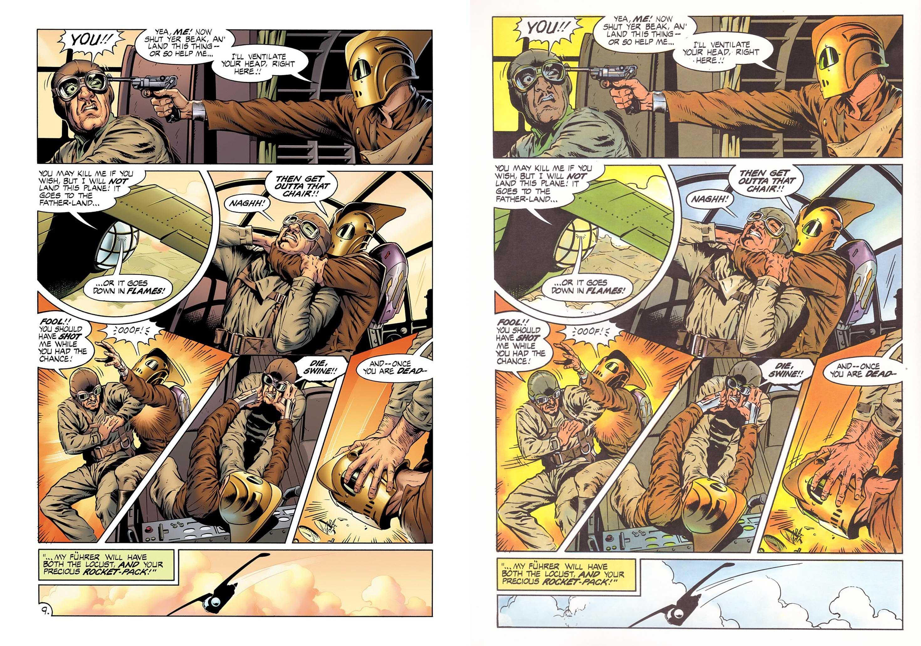 The Rocketeer The Complete Adventures review