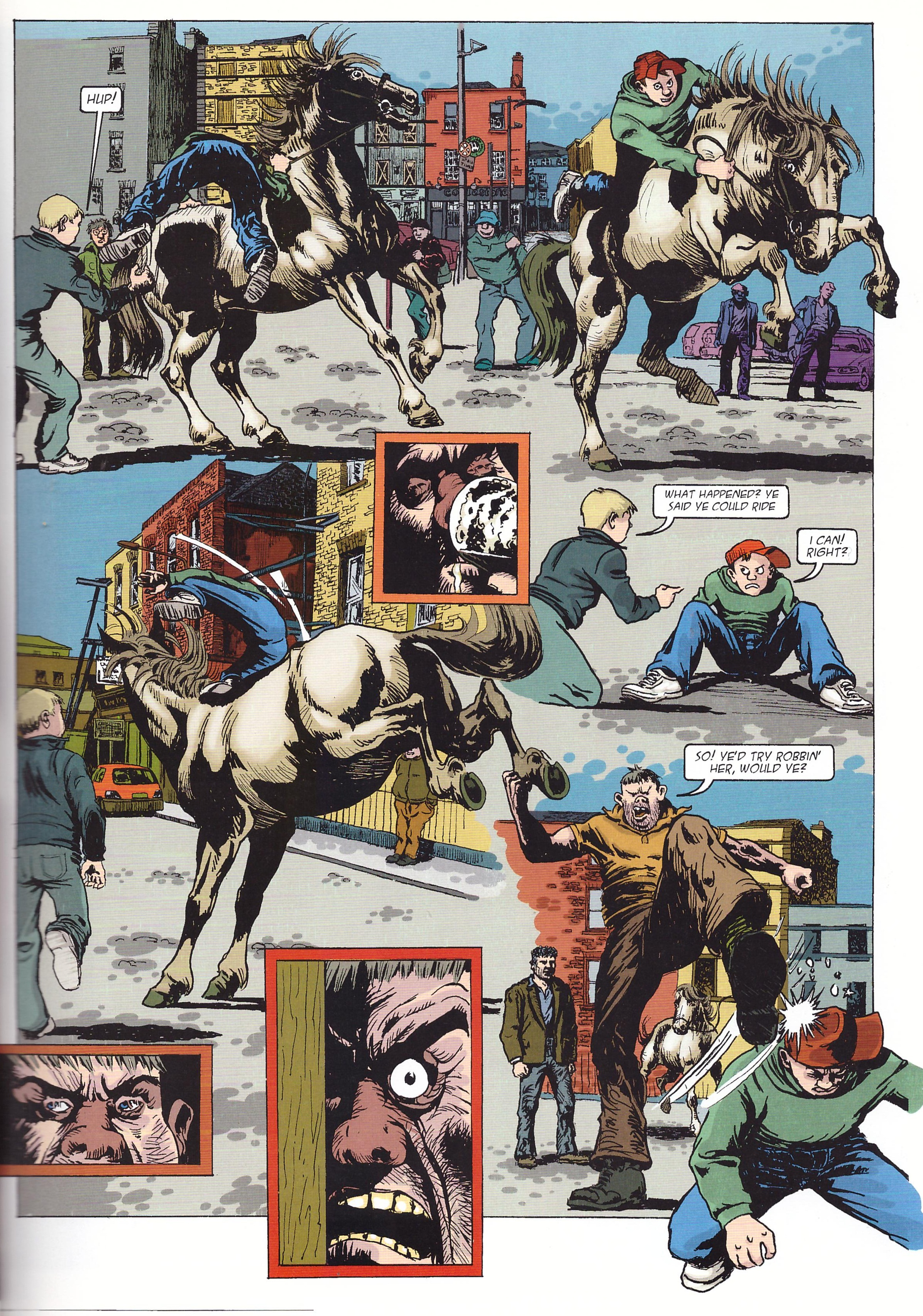 The Streets of Dublin graphic novel review