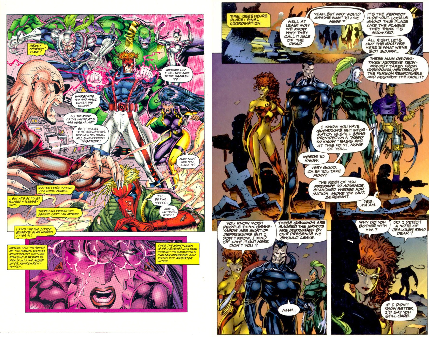 WILDC.A.T.S Cyberforce Killer Instinct review