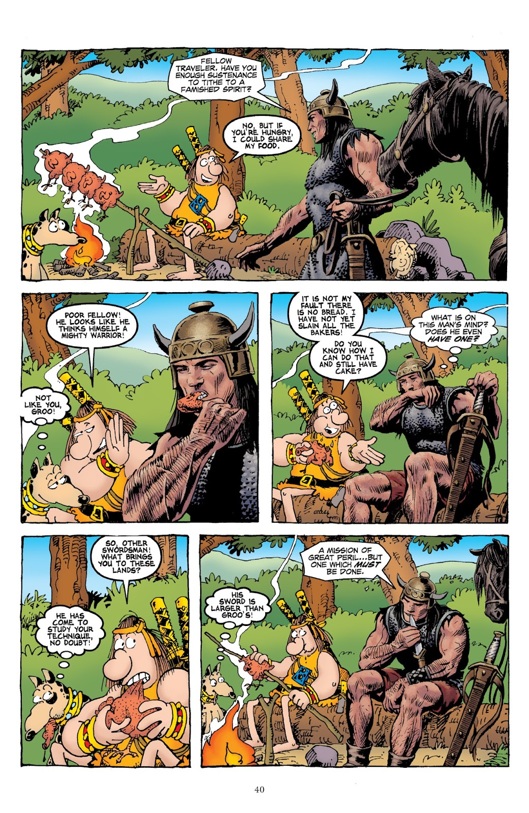 Groo vs Conan review