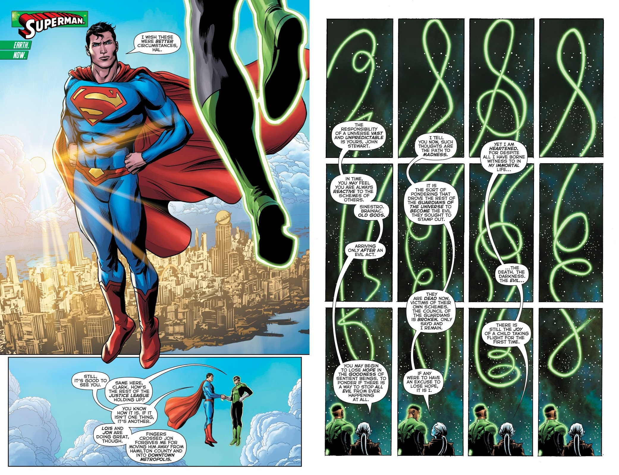 Hal Jordan and the Green Lantern Corps - Twilight of the Guardians review