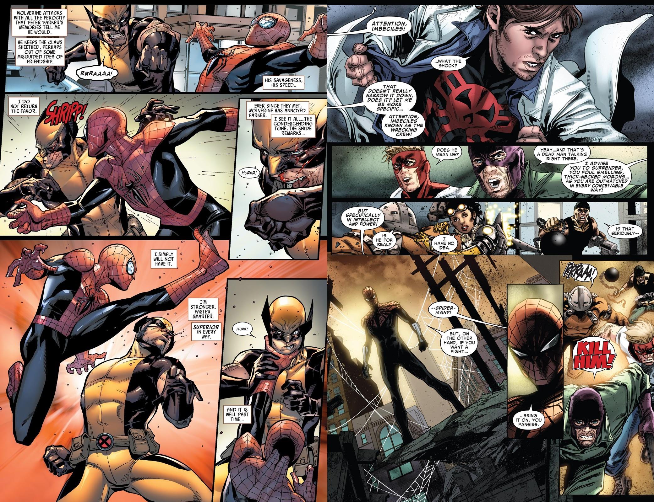 Superior Spider-Man Team-Up Superiority Complex review