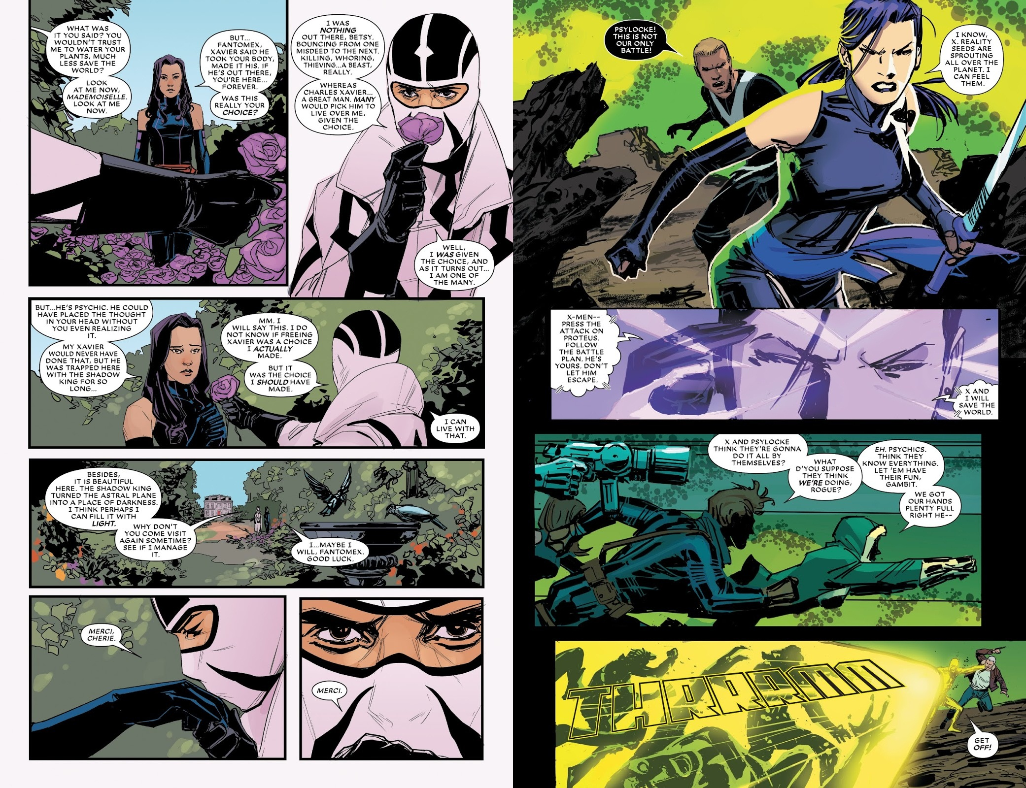Astonishing X-Men A Man Called X review