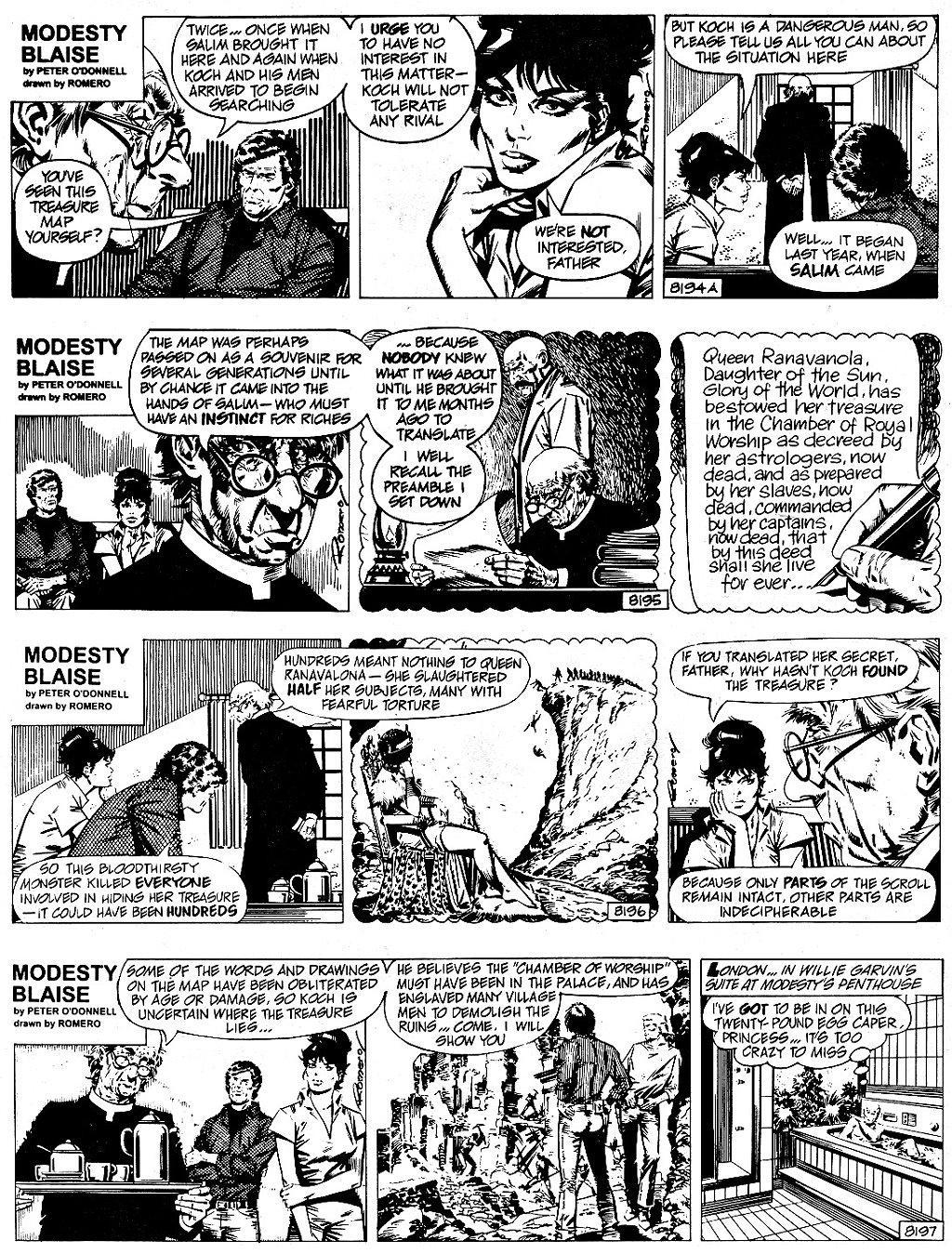 Modesty Blaise The Grim Joker review