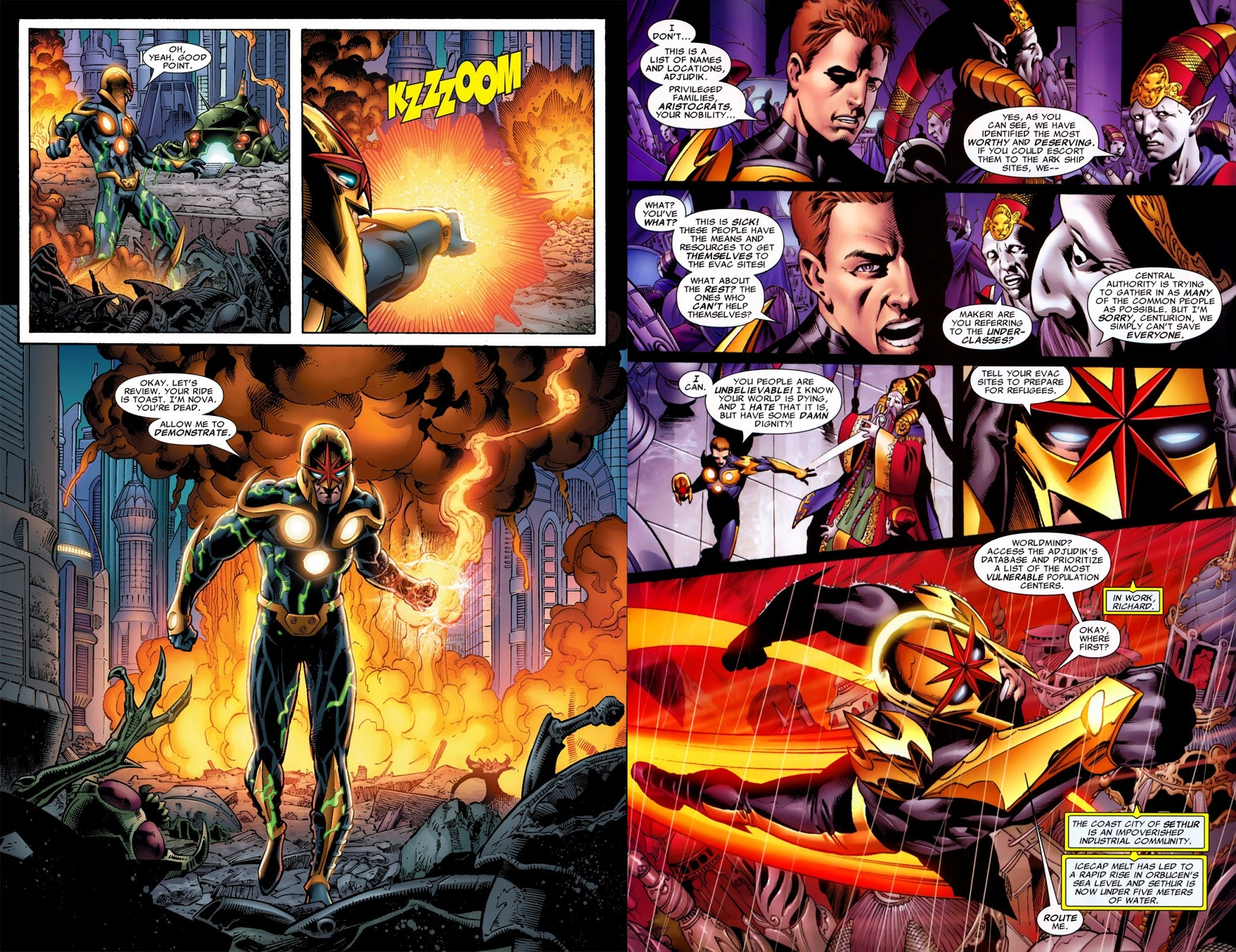 Nova by Abnett & Lanning The Complete Collection v1 review