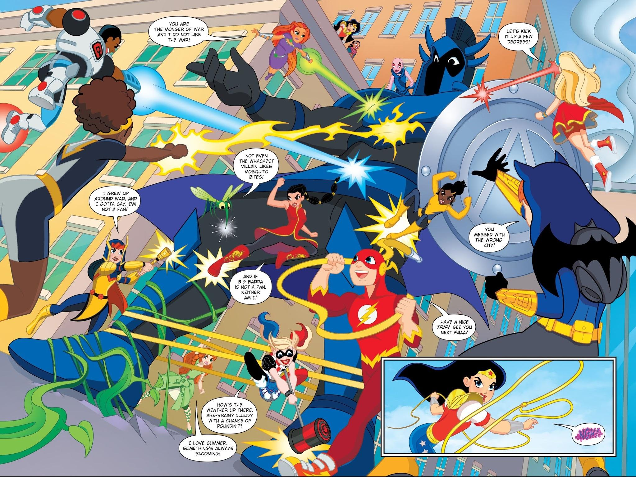 DC Superhero Girls - Summer Olympus review