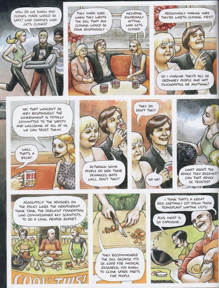 Livestock graphic novel review