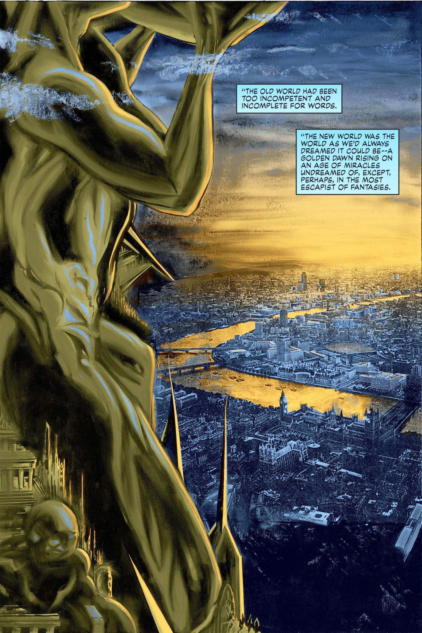 Miracleman by Gaiman and Buckingham Book 1 The Golden Age Review