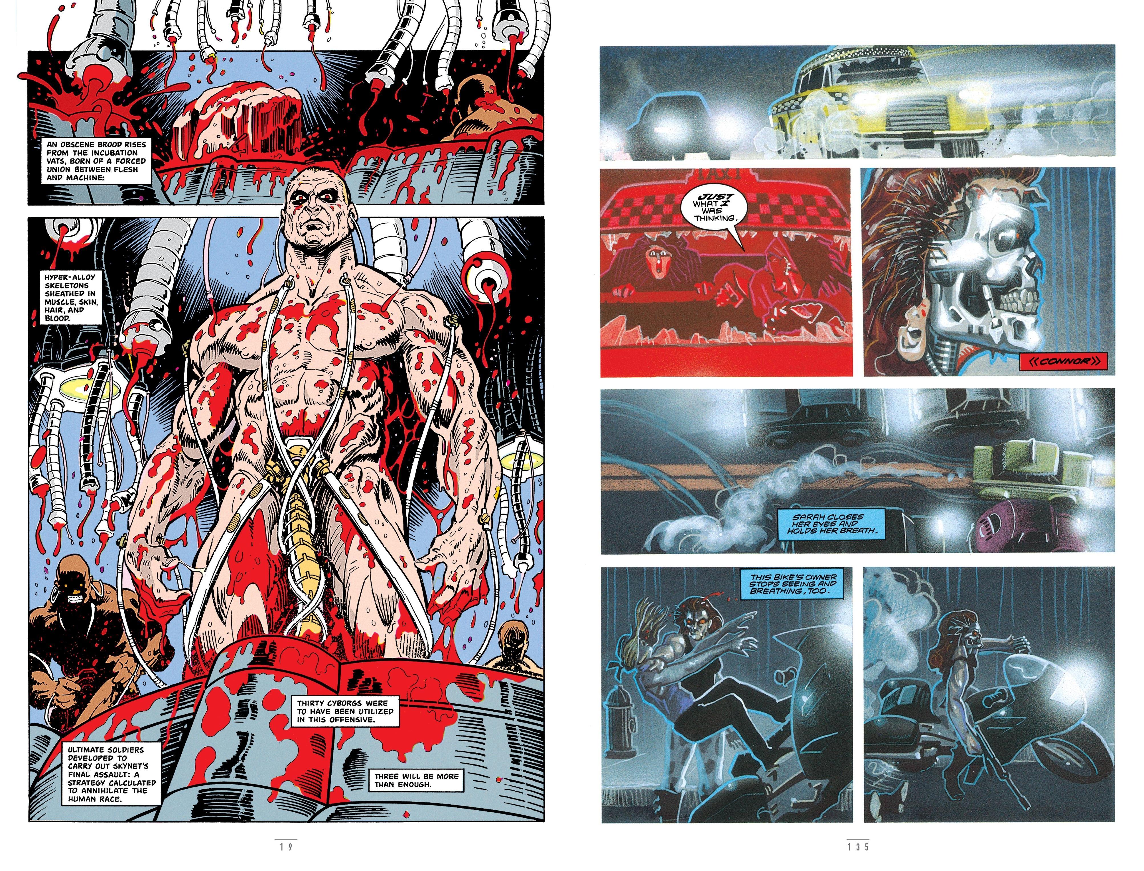 Terminator Original Comic series review