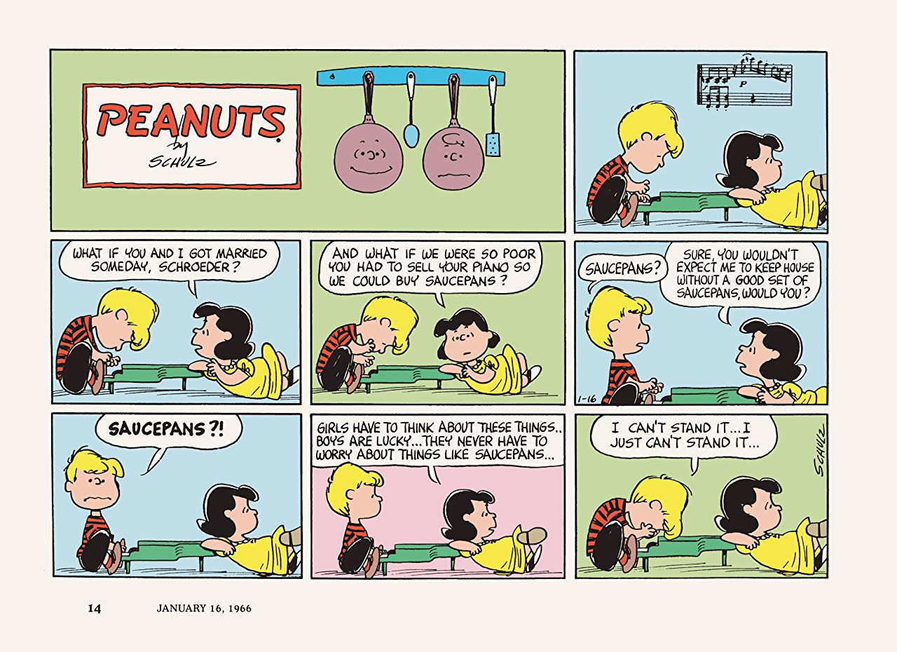 peanuts 1966