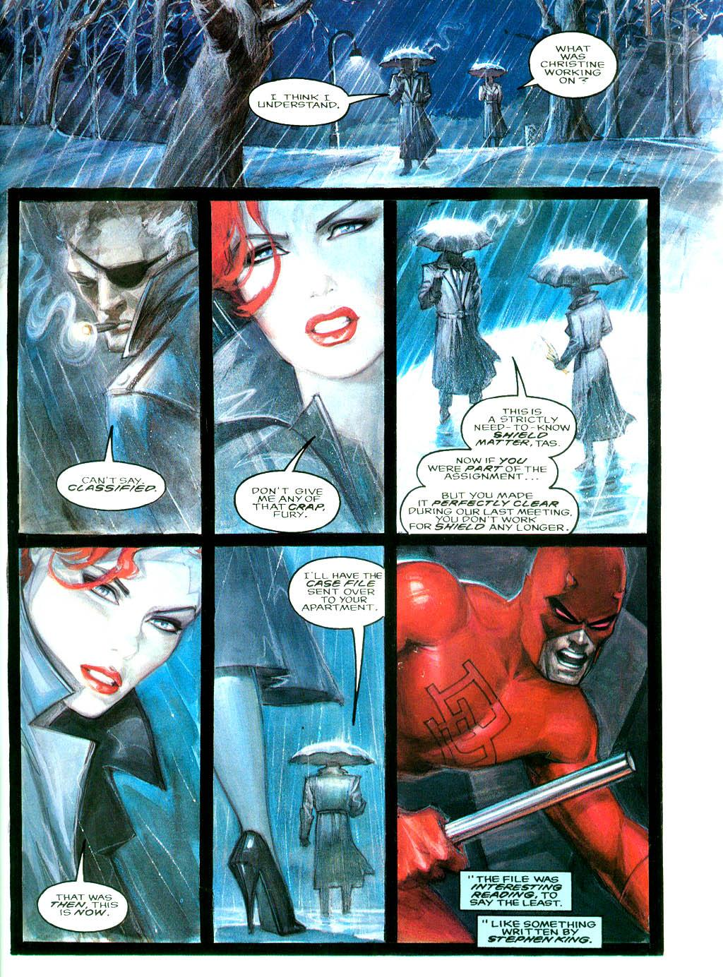 Daredevil Black Widow - Abattoir review