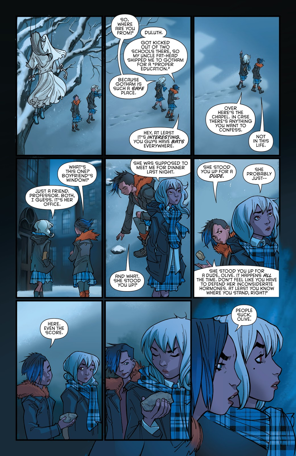 Gotham Academy Second Semester Welcome Back review