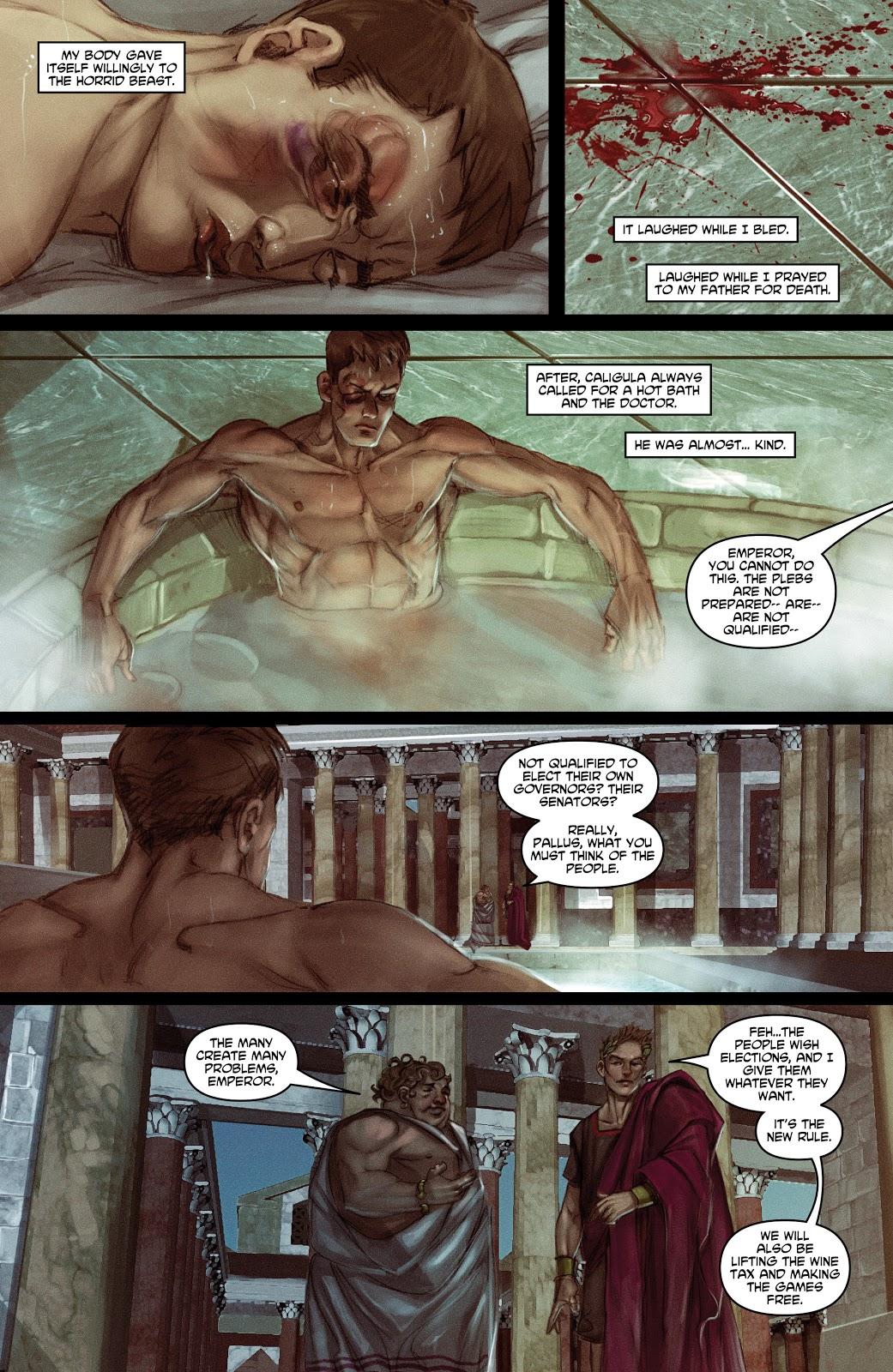 Caligula graphic novel review