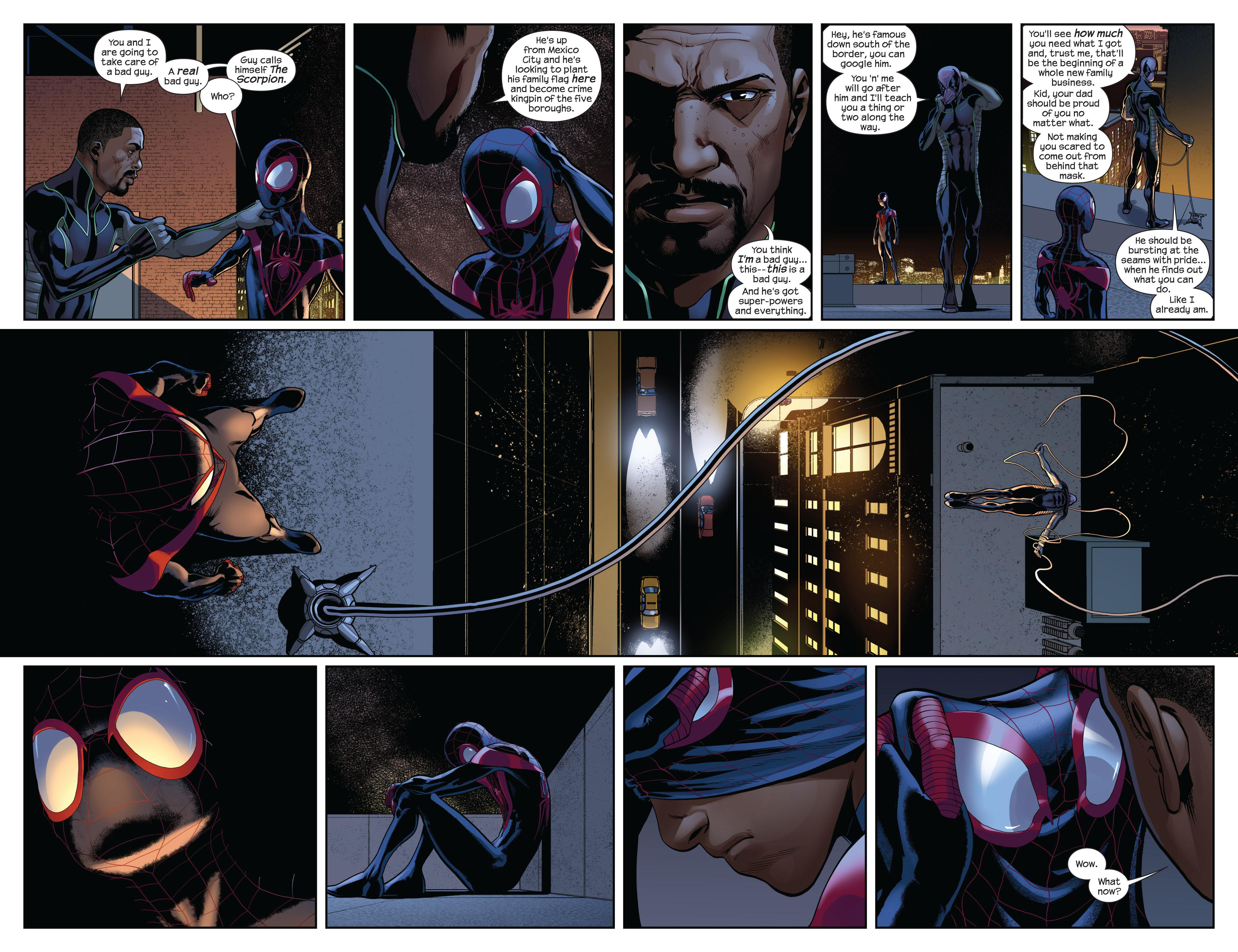 Miles Morales the Ultimate Spider-Man collection bk 1 review