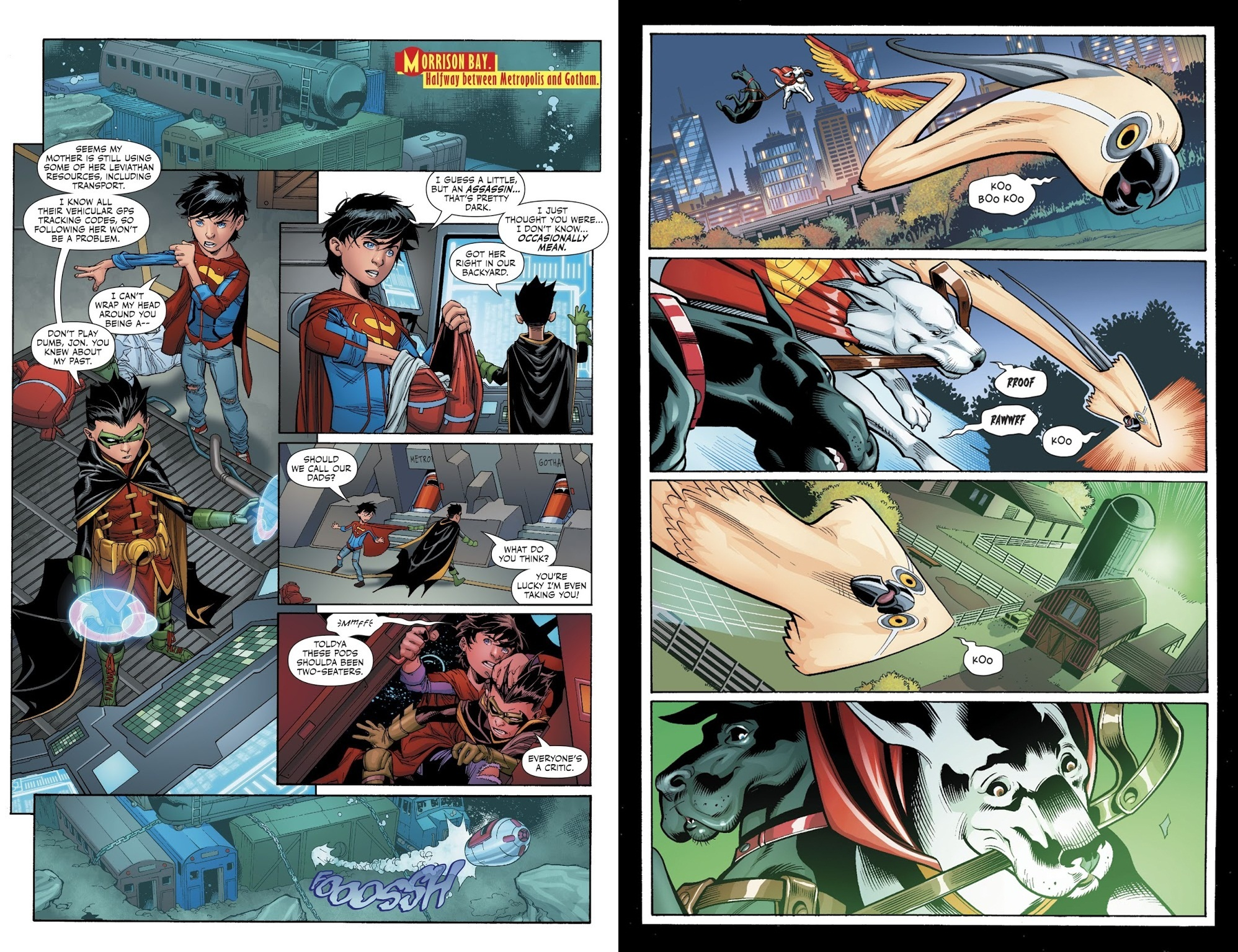 Super Sons V3 The Parent Trap review