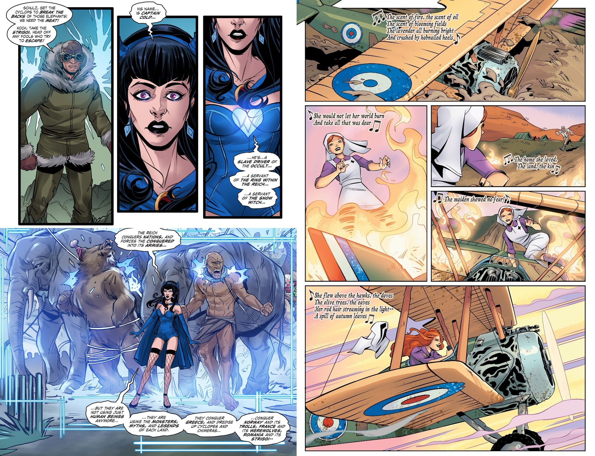 DC Comics Bombshells 5 The Death of Illusion review