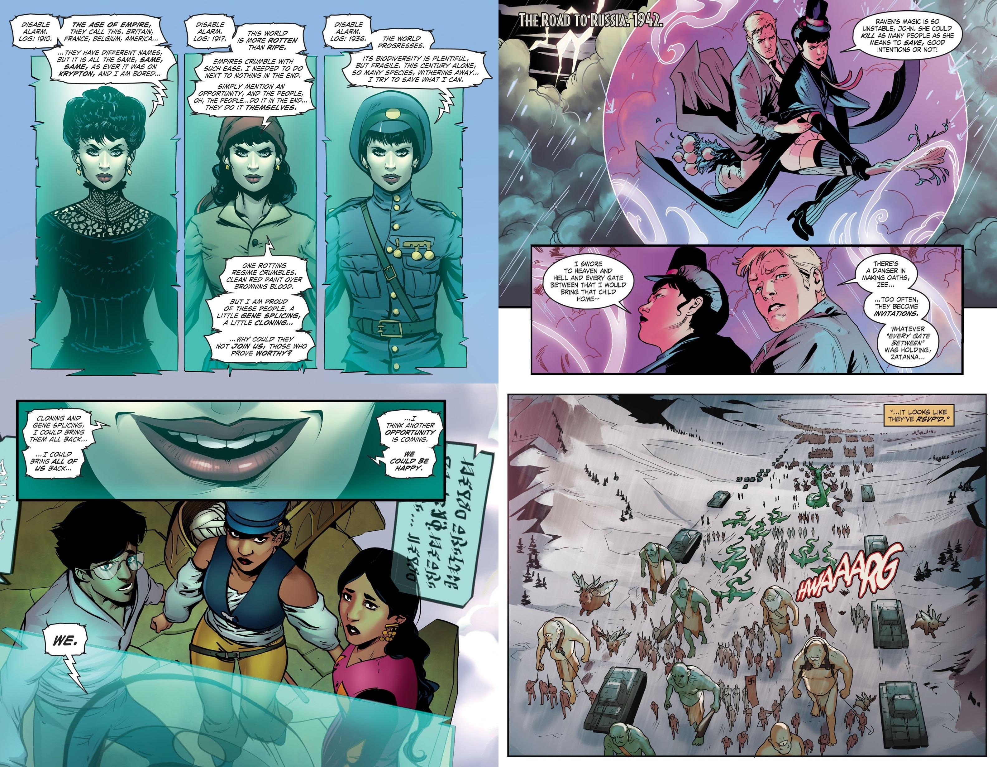 DC Comics Bombshells 6 War Stories review