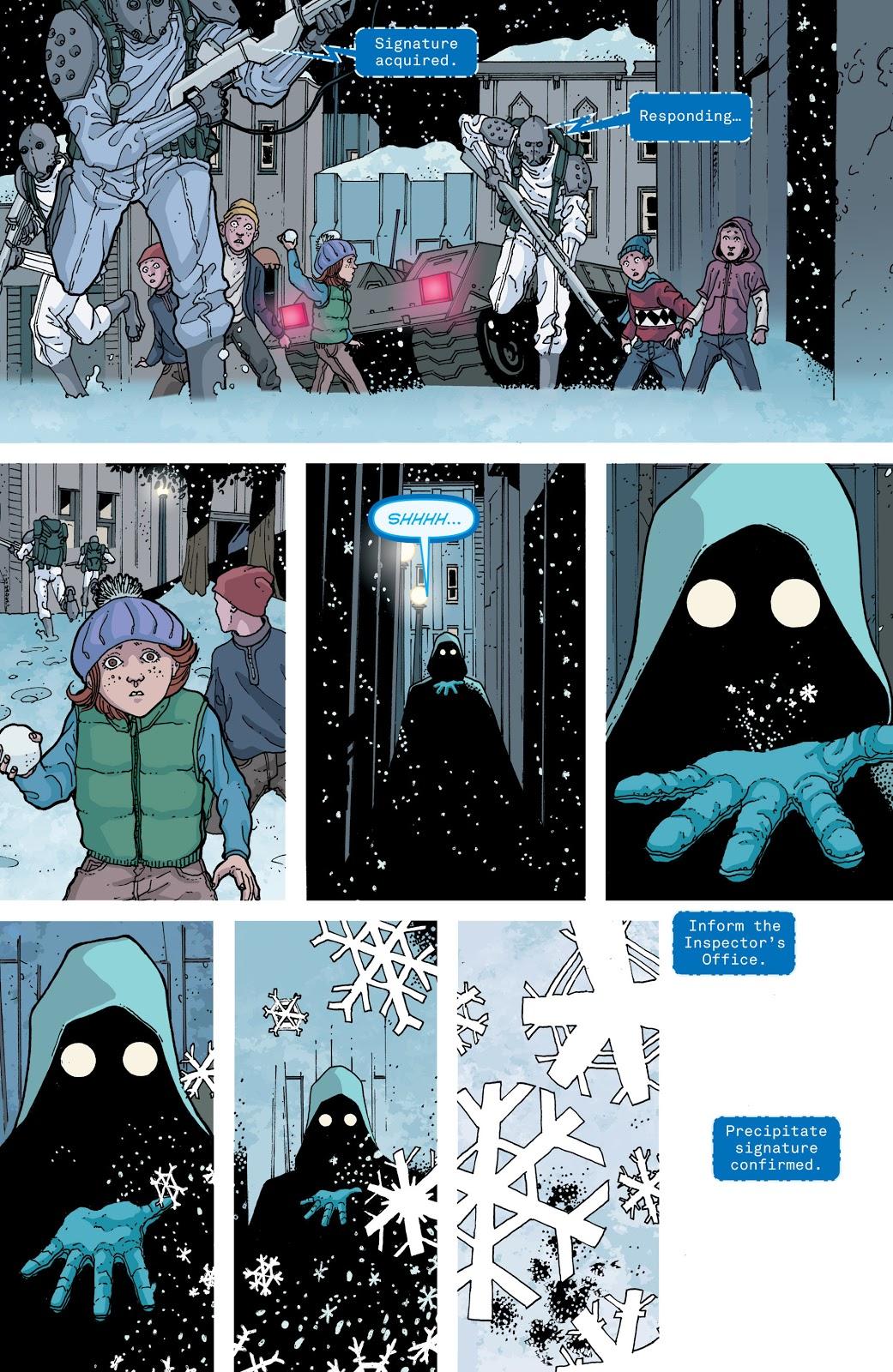 Snowfall graphic novel review