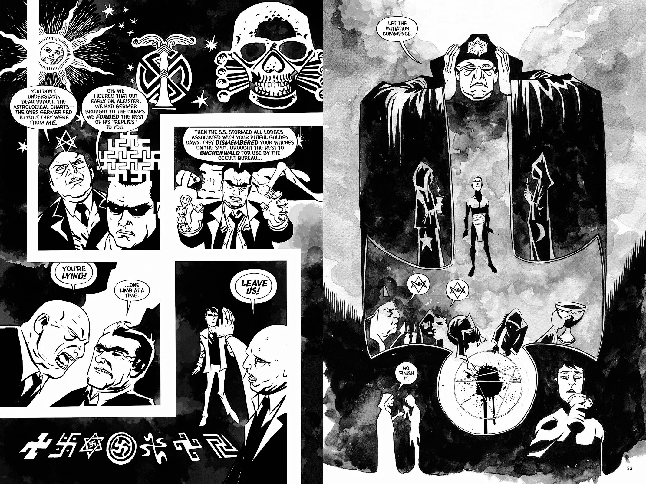 Aleister and Adolf review