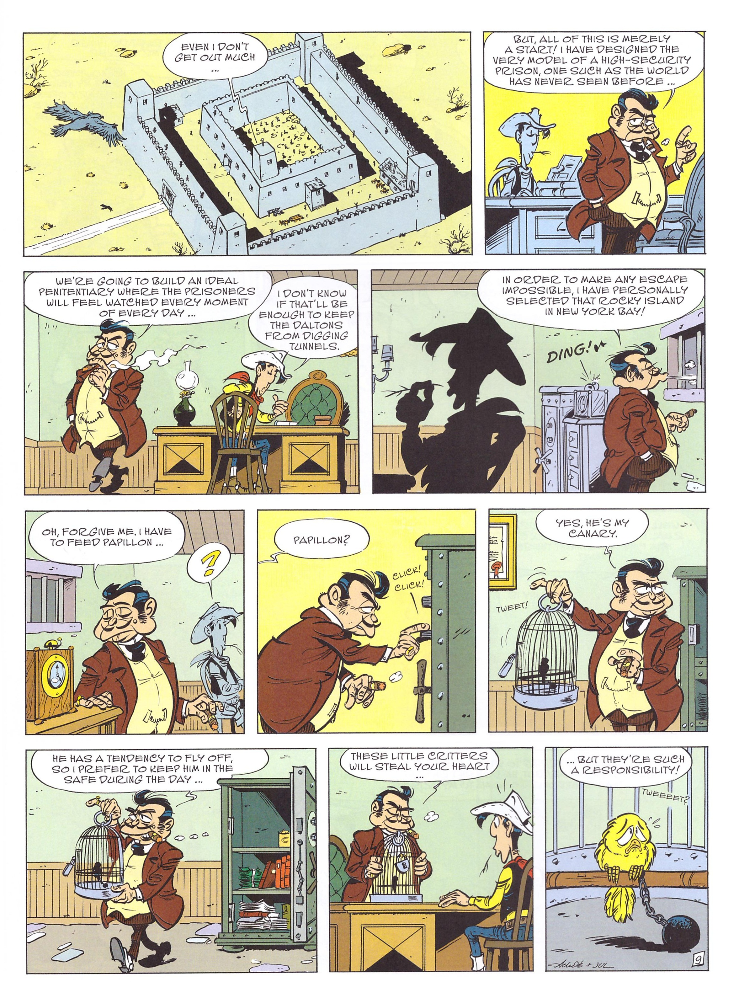 Lucky Luke A Cowboy in Paris review