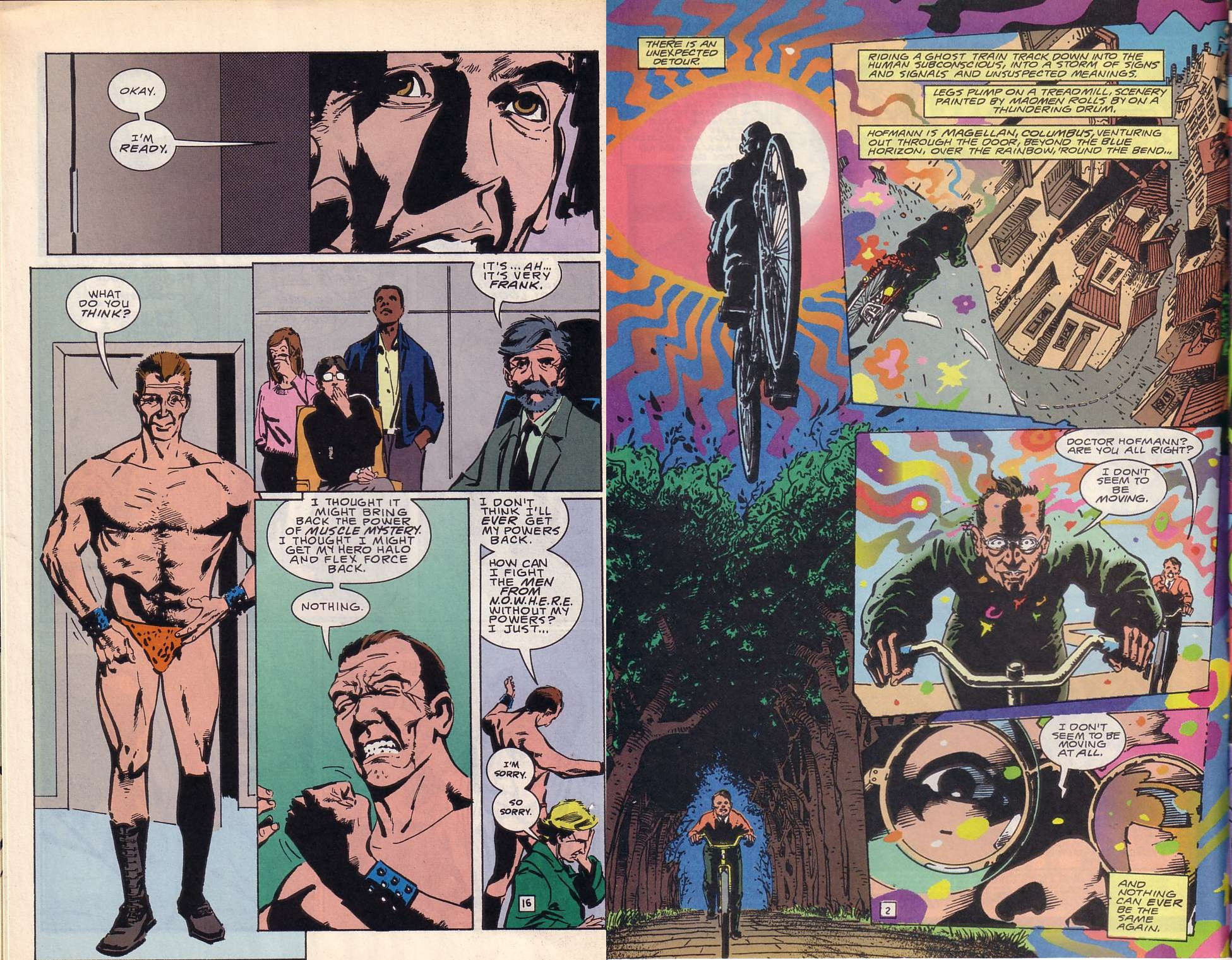 Doom Patrol Musclebound review