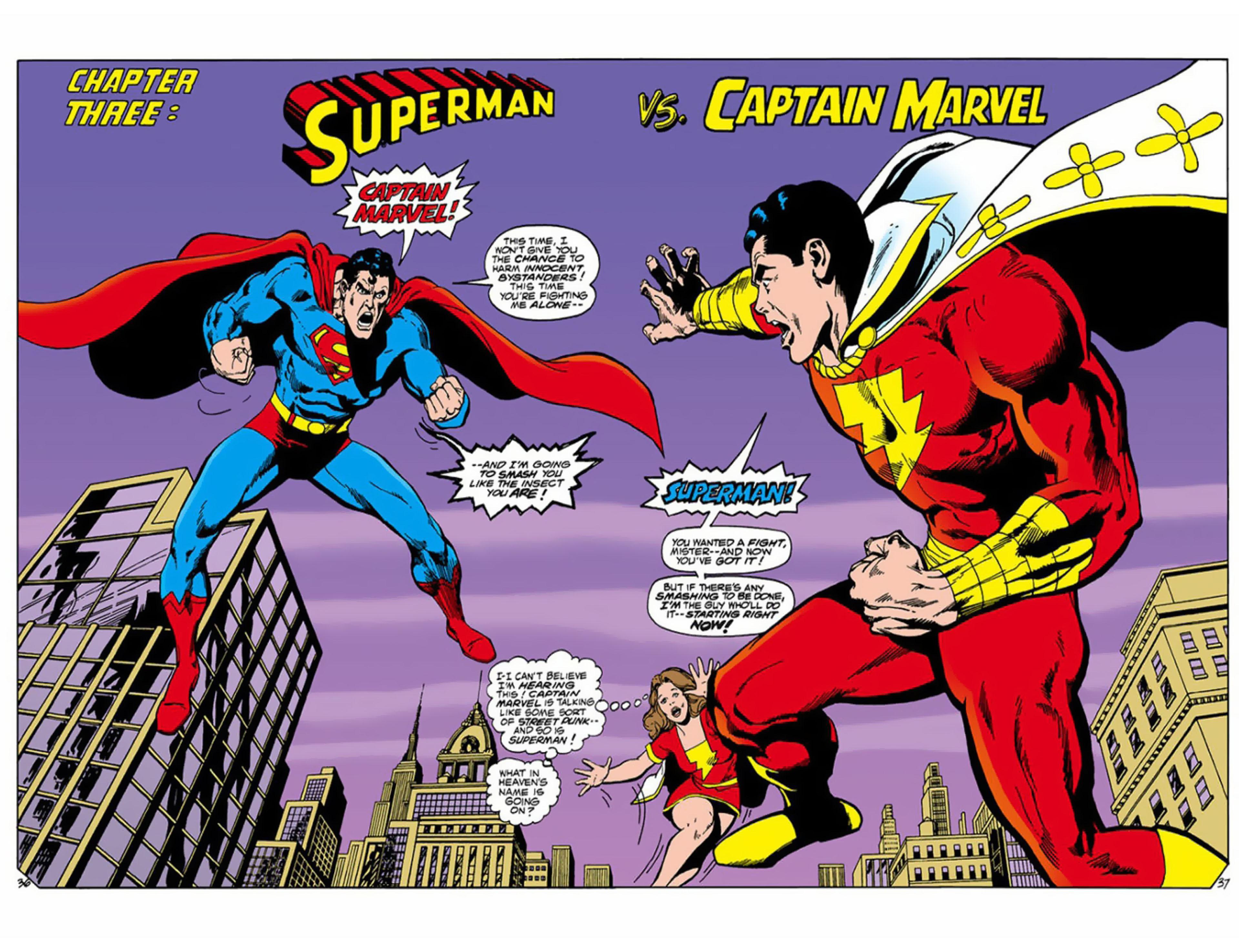 Superman vs Shazam! review