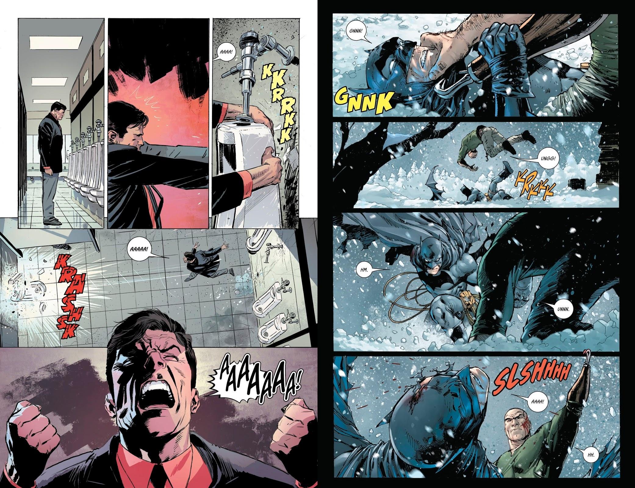 Batman Rebirth 8 Cold Days review
