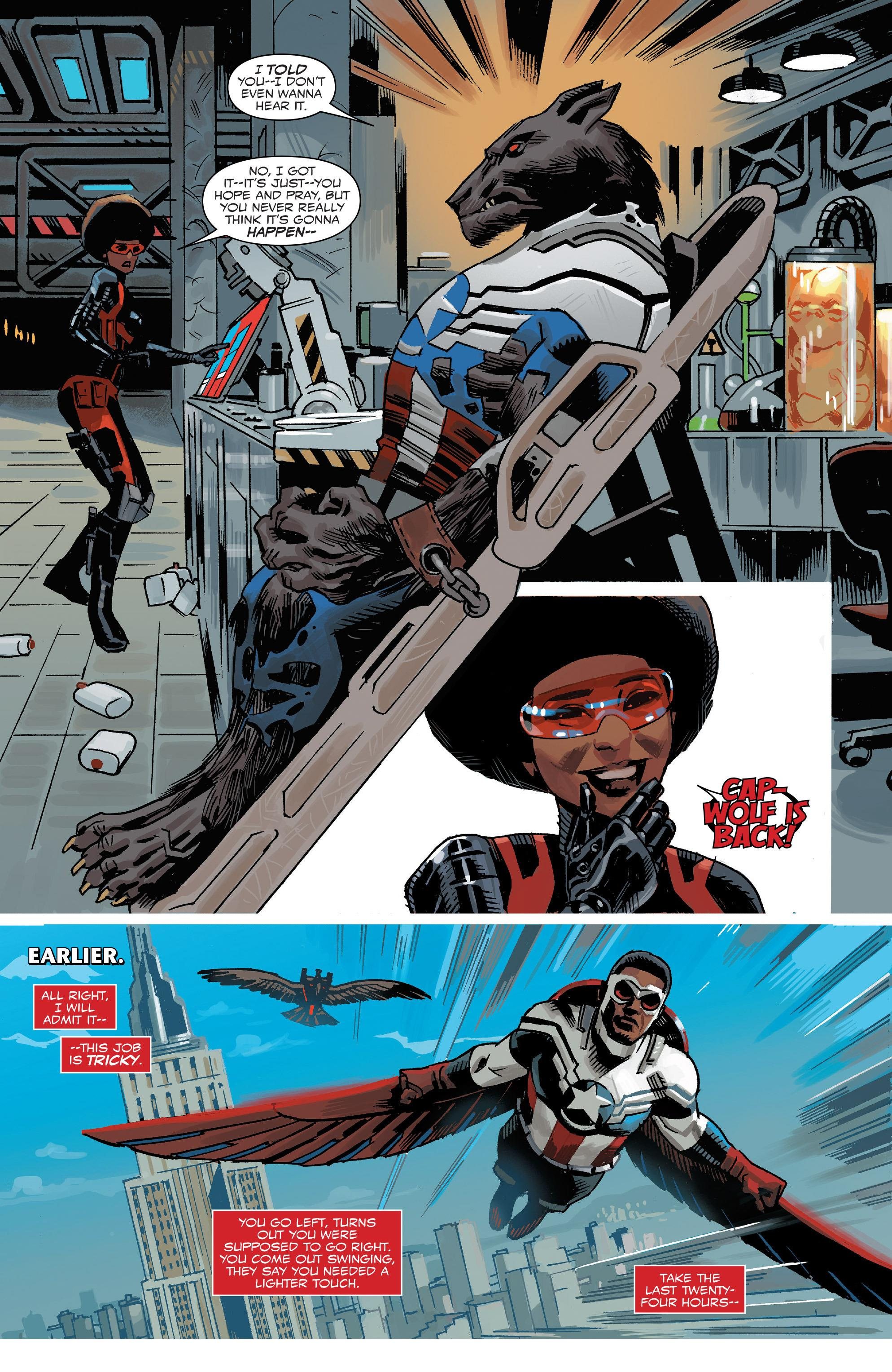 Sam Wilson Captain America V1 Not My Captain America review
