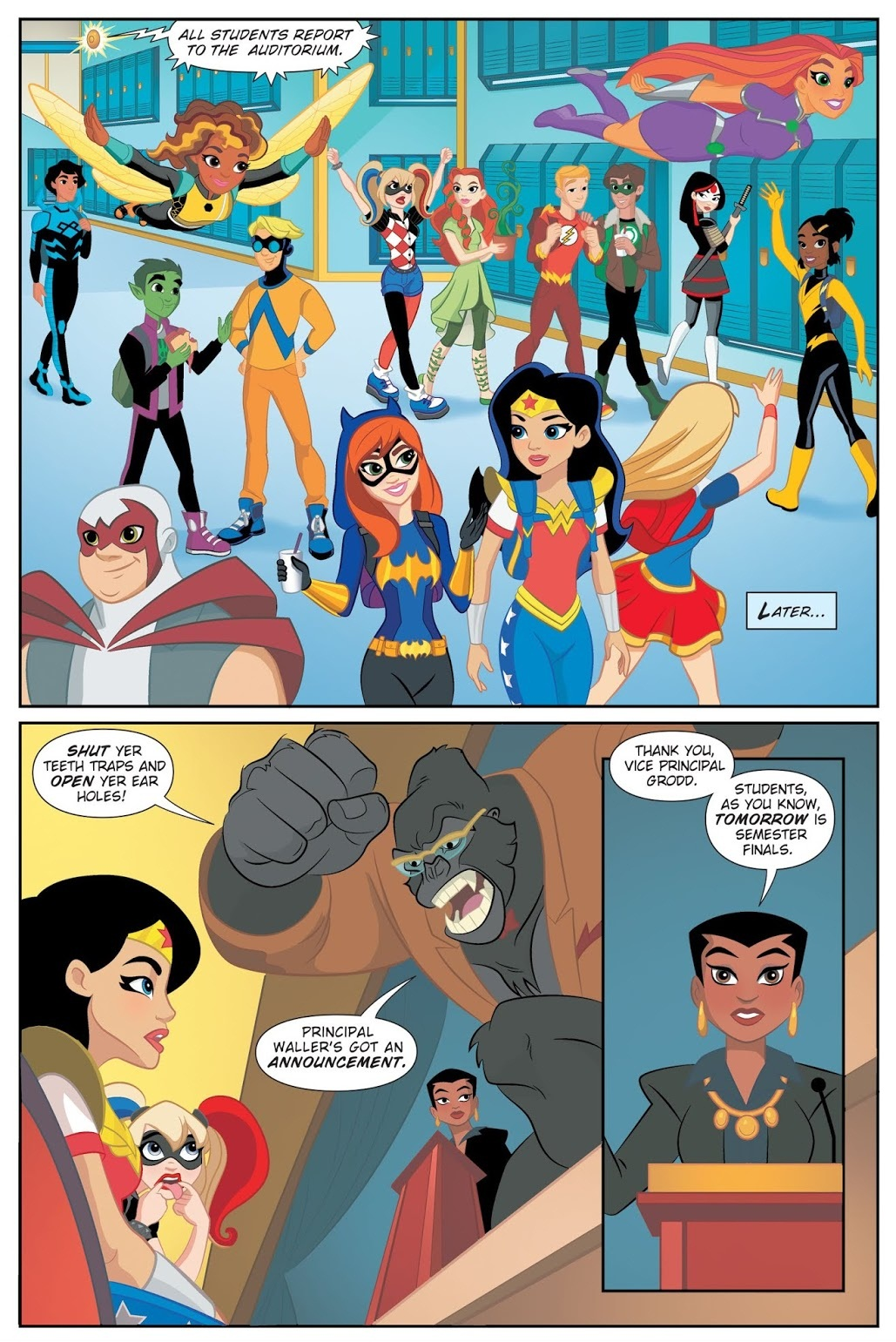 DC Superhero Girls Finals Crisis