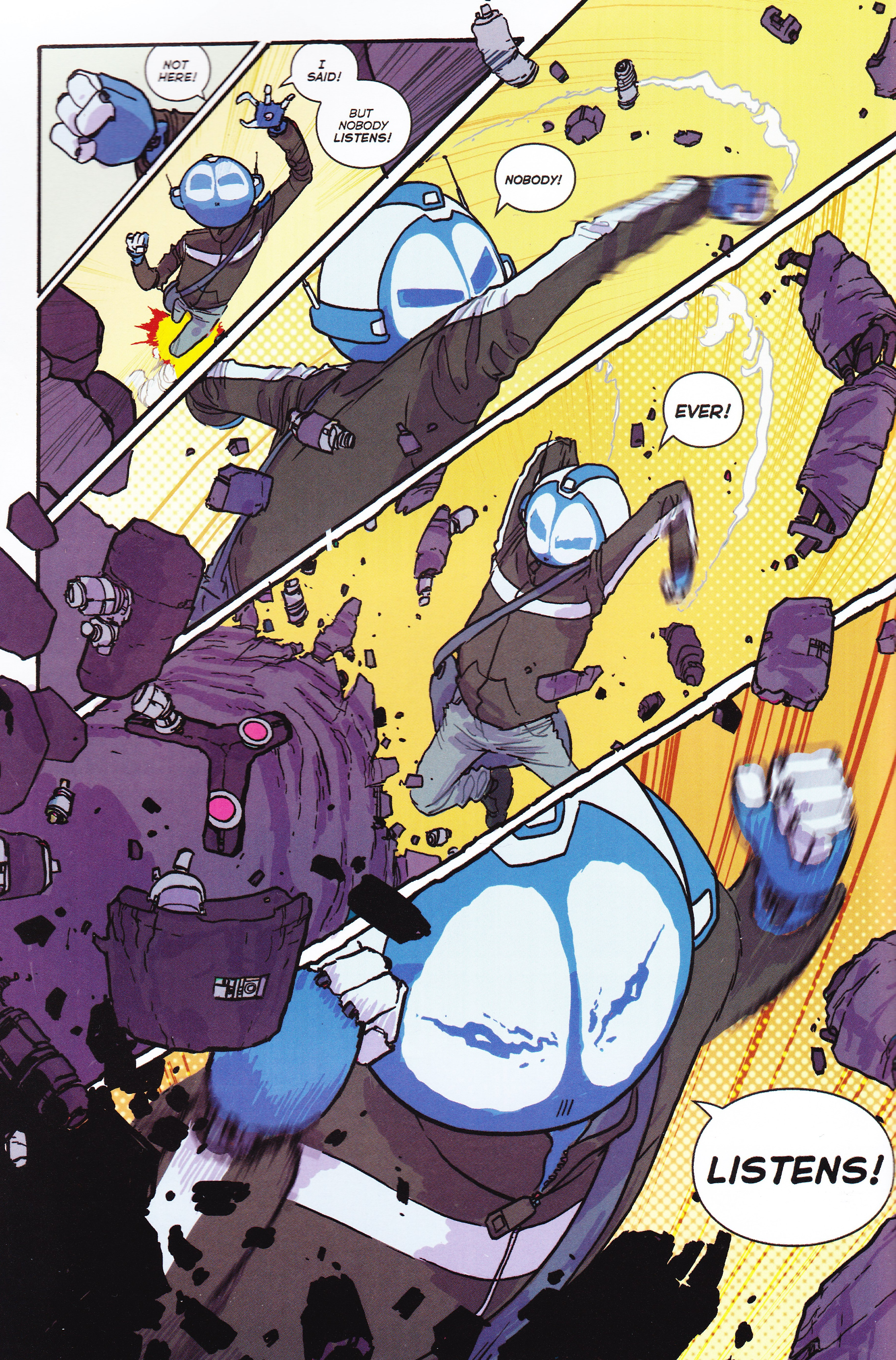 Mega Robo Bros 3 Mega Robo Revenge