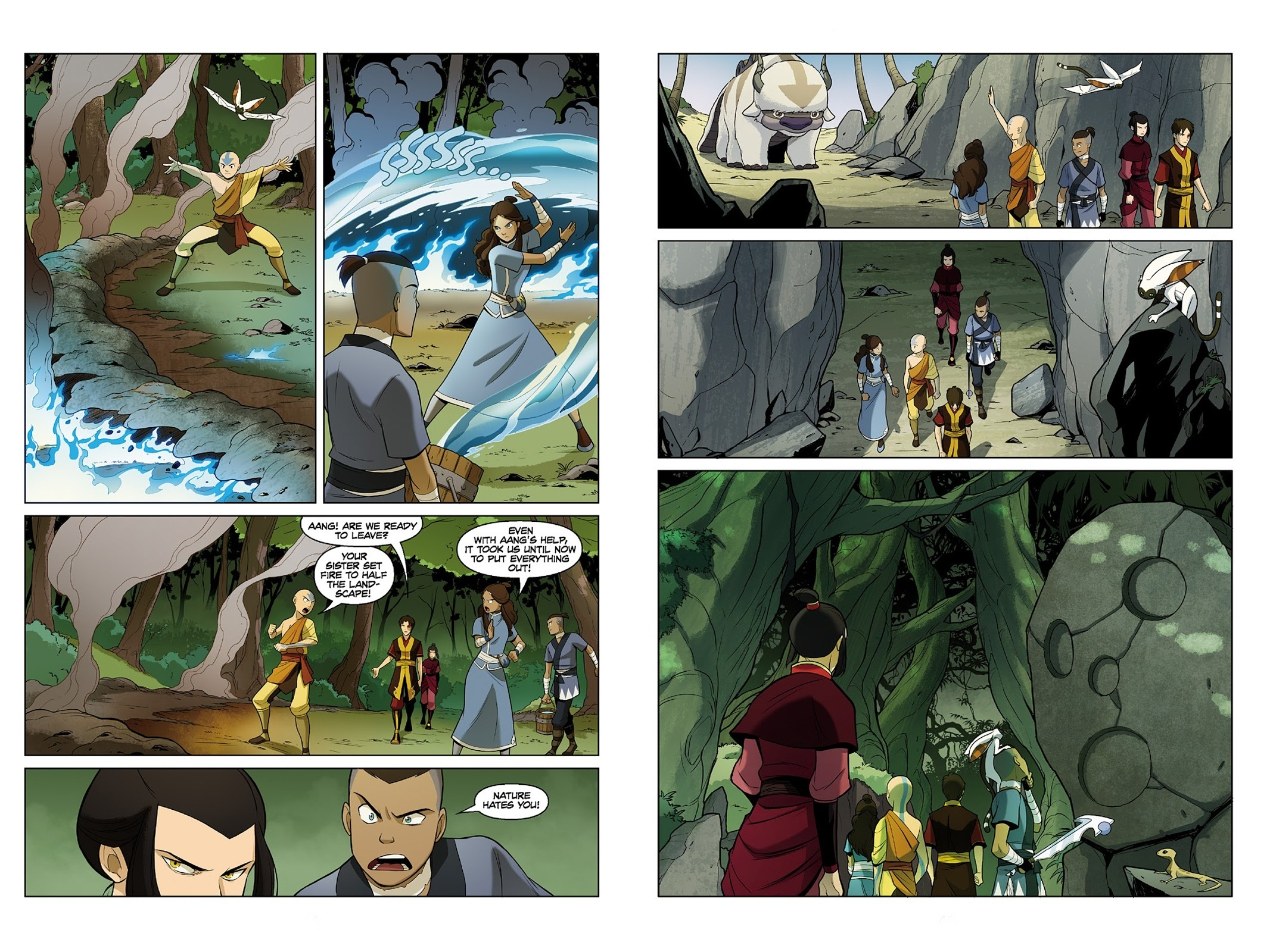 Avatar The Last Airbender The Search V2 review