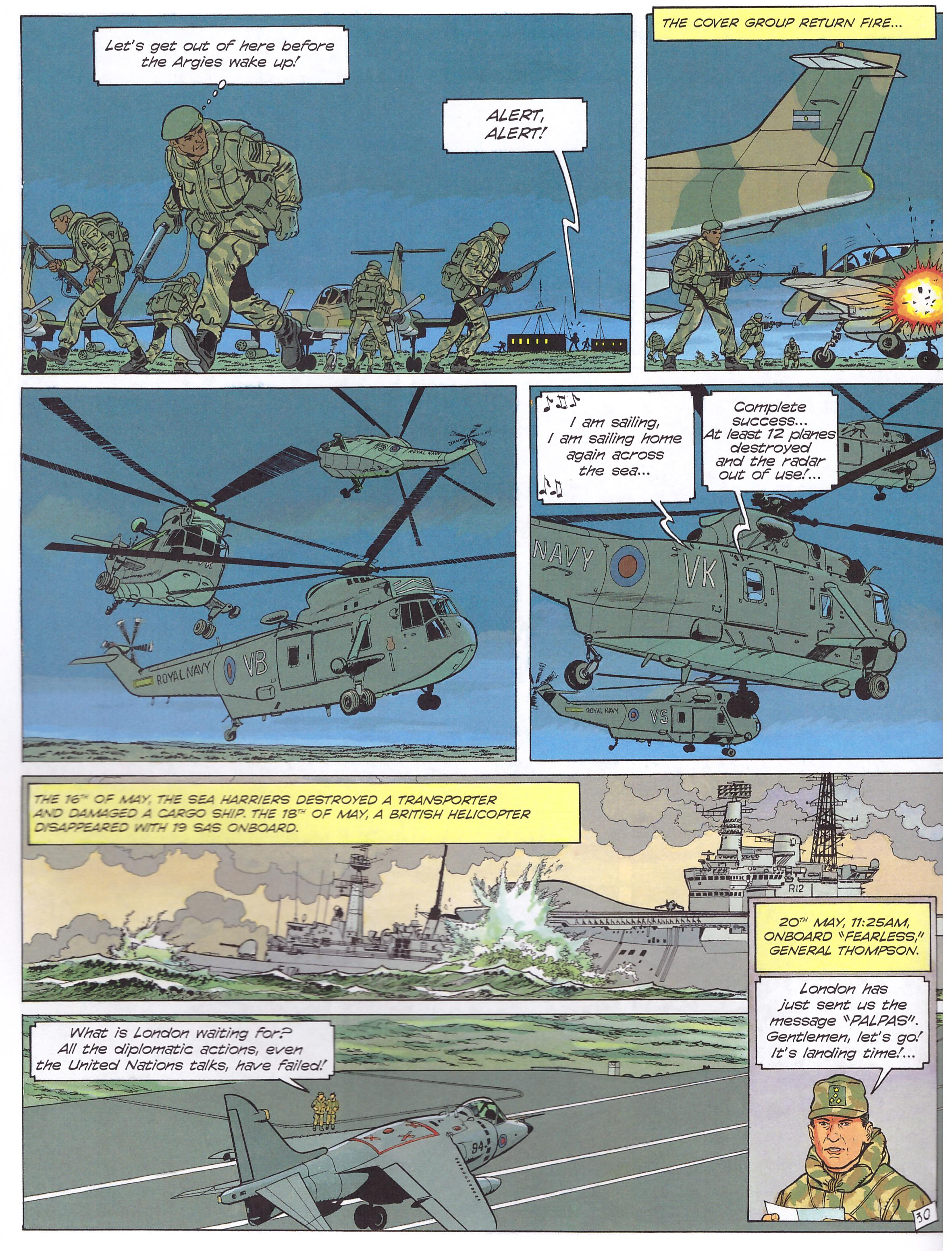 Cinebook Recounts The Falklands War review