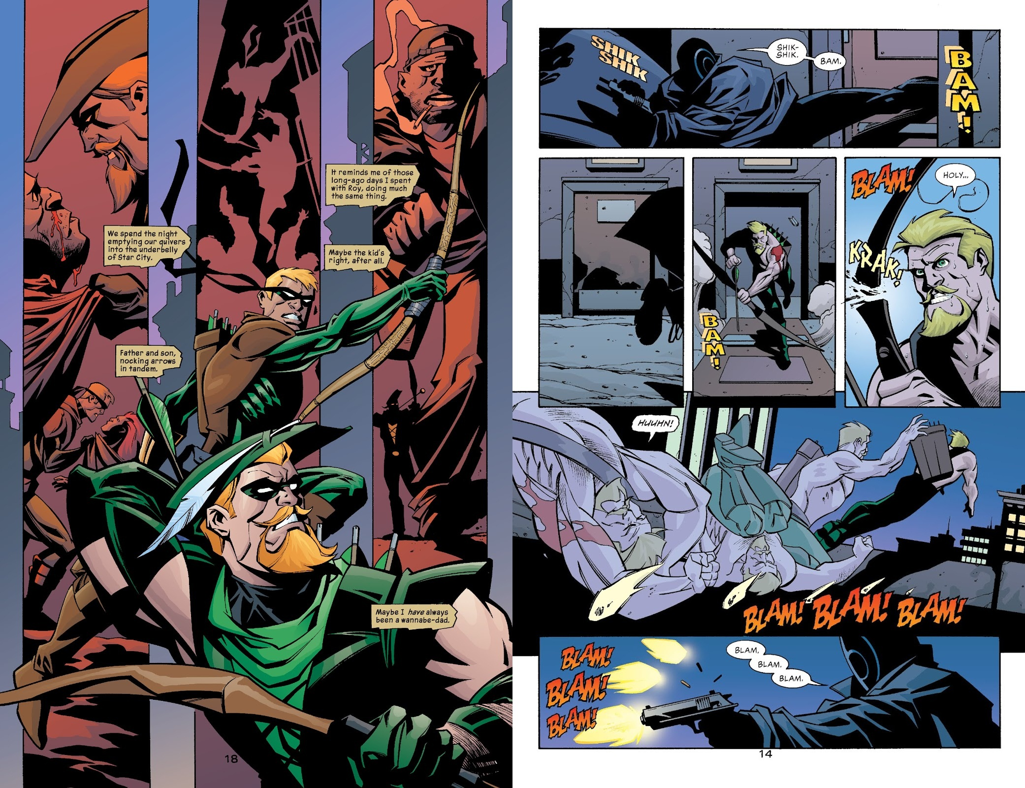 Green Arrow Sounds of Violence review
