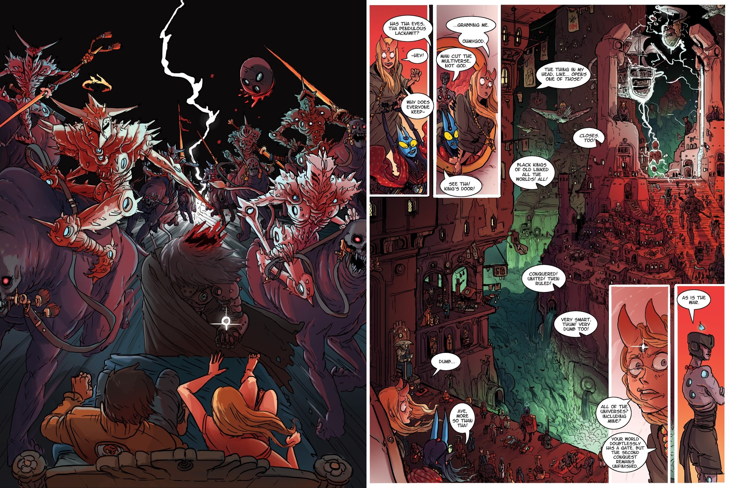 Kill 6 Billion Demons Book One review