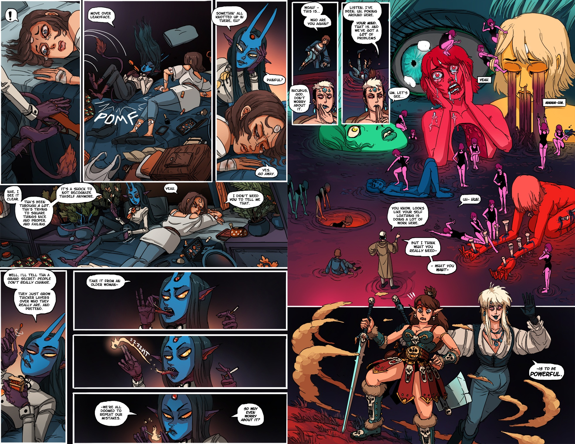 Kill 6 Billion Demons 3 Seeker of Thrones review