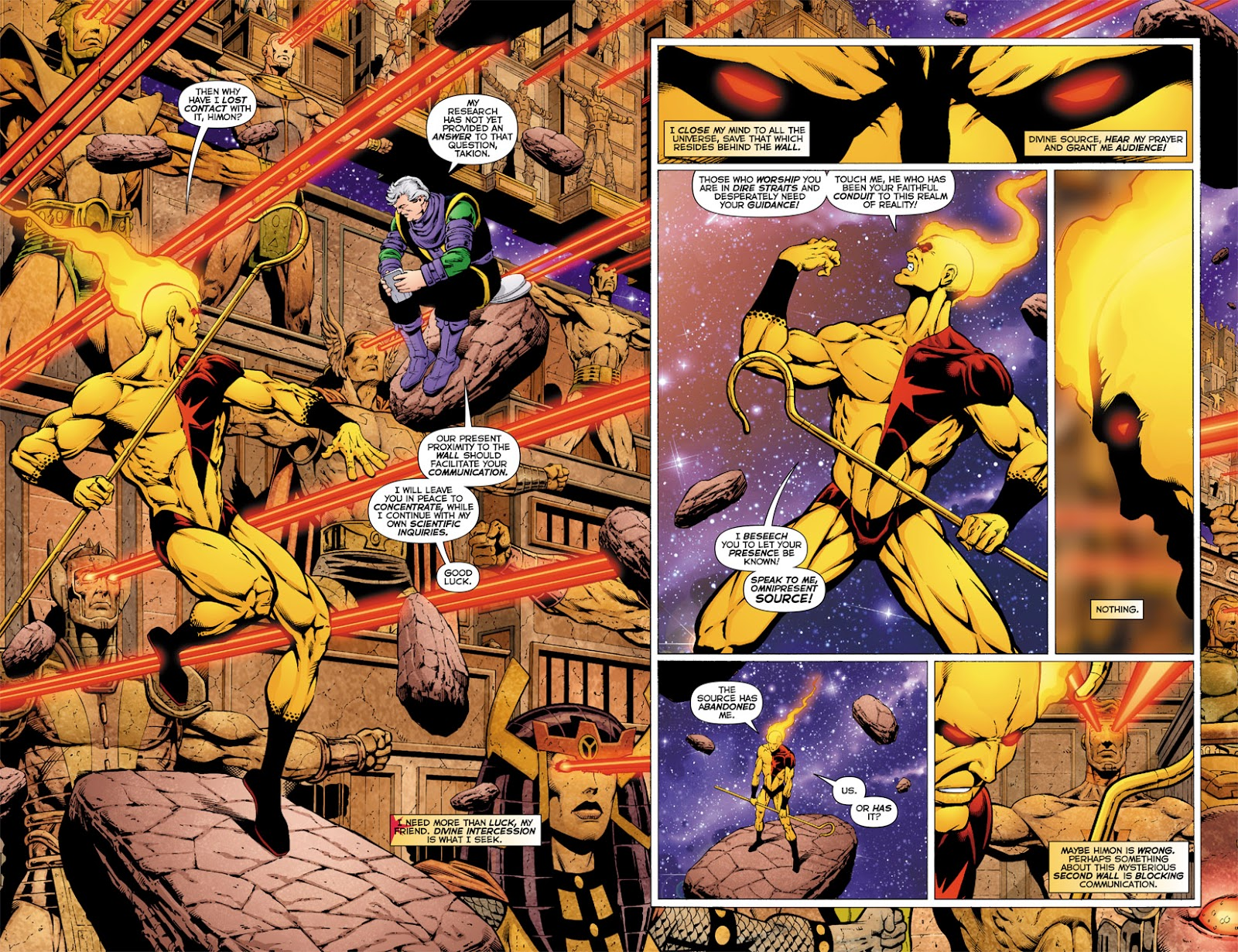 The Death of the New Gods review