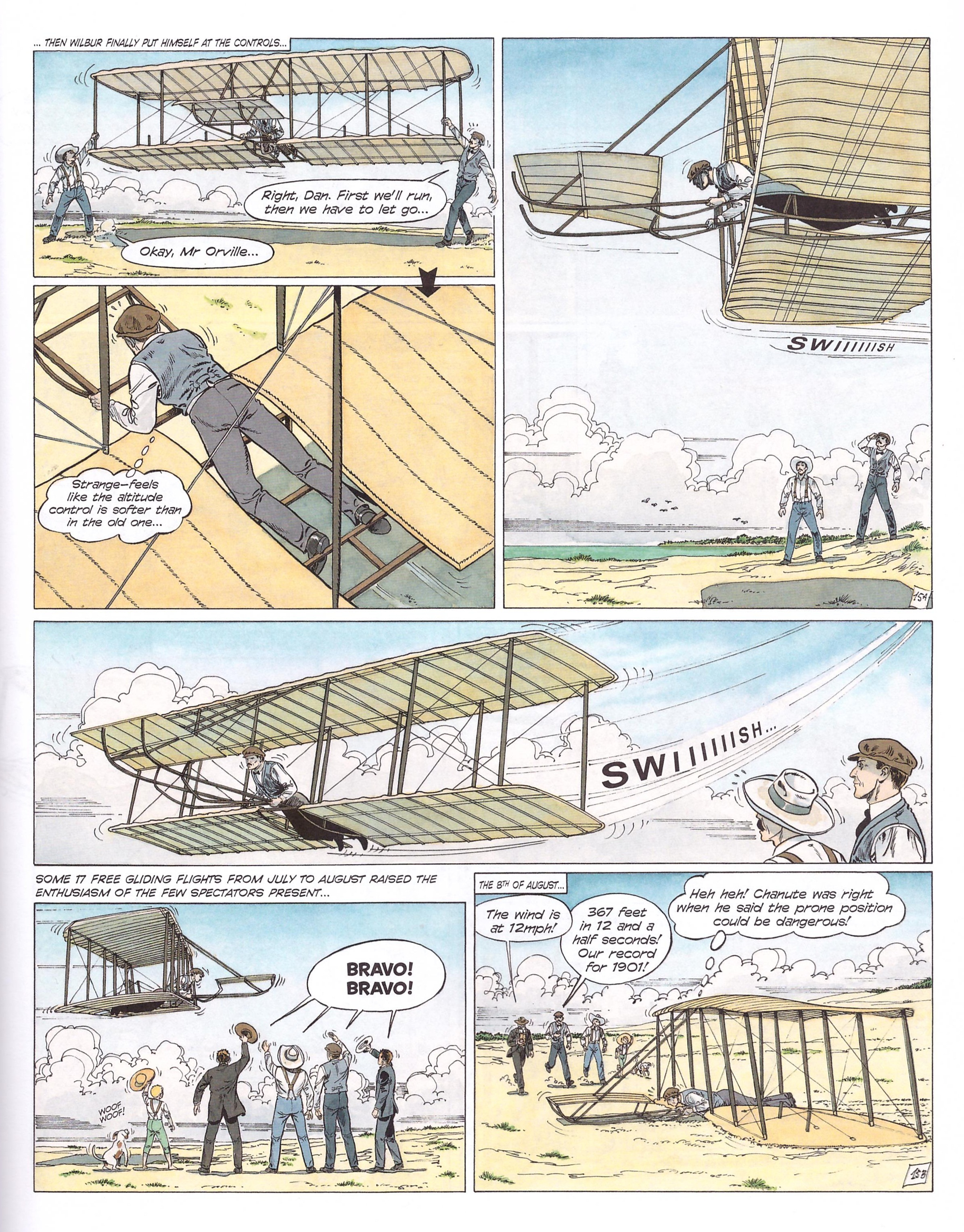 Cinebook Presents the Wright Brothers review