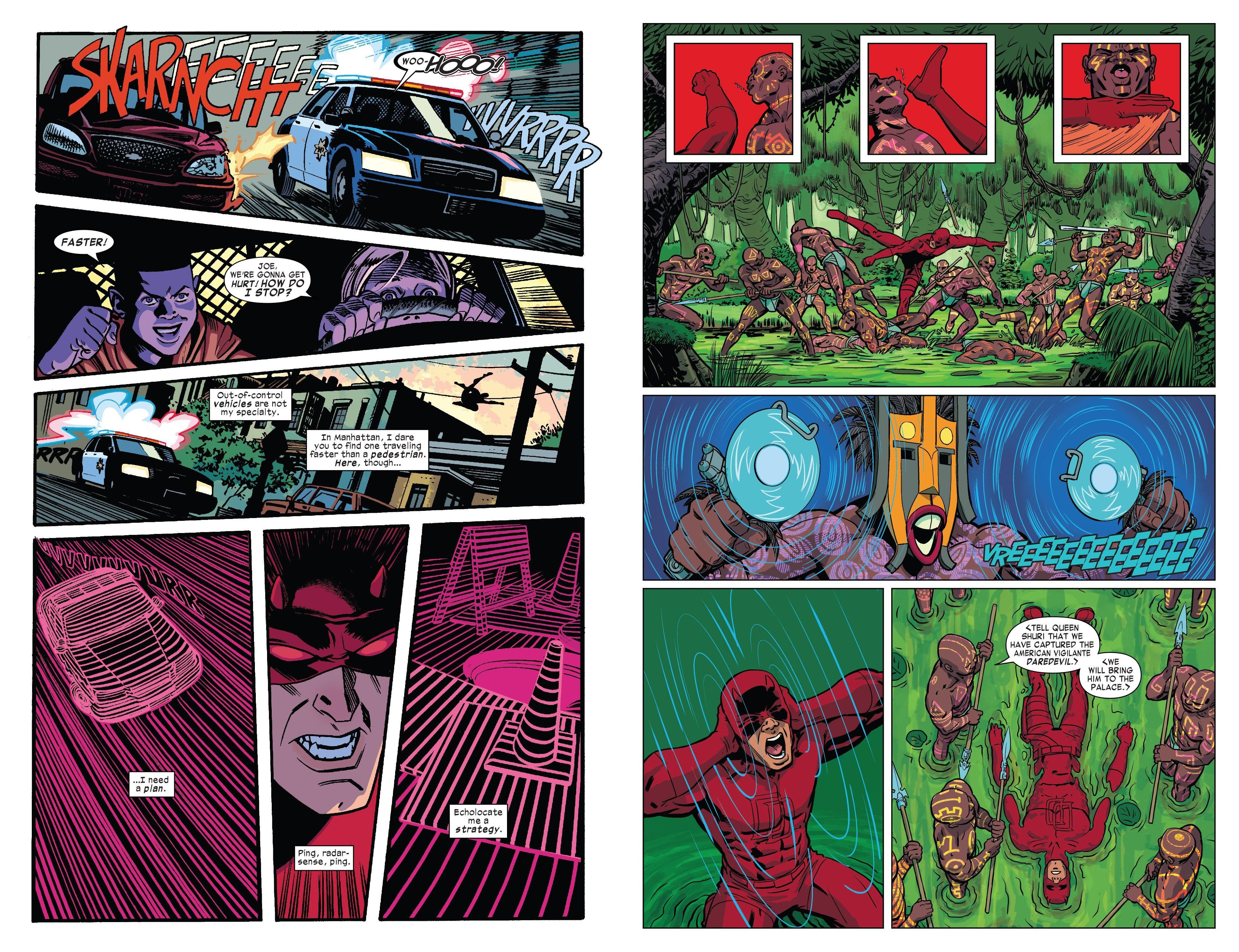 Daredevil - West-Case Scenario review