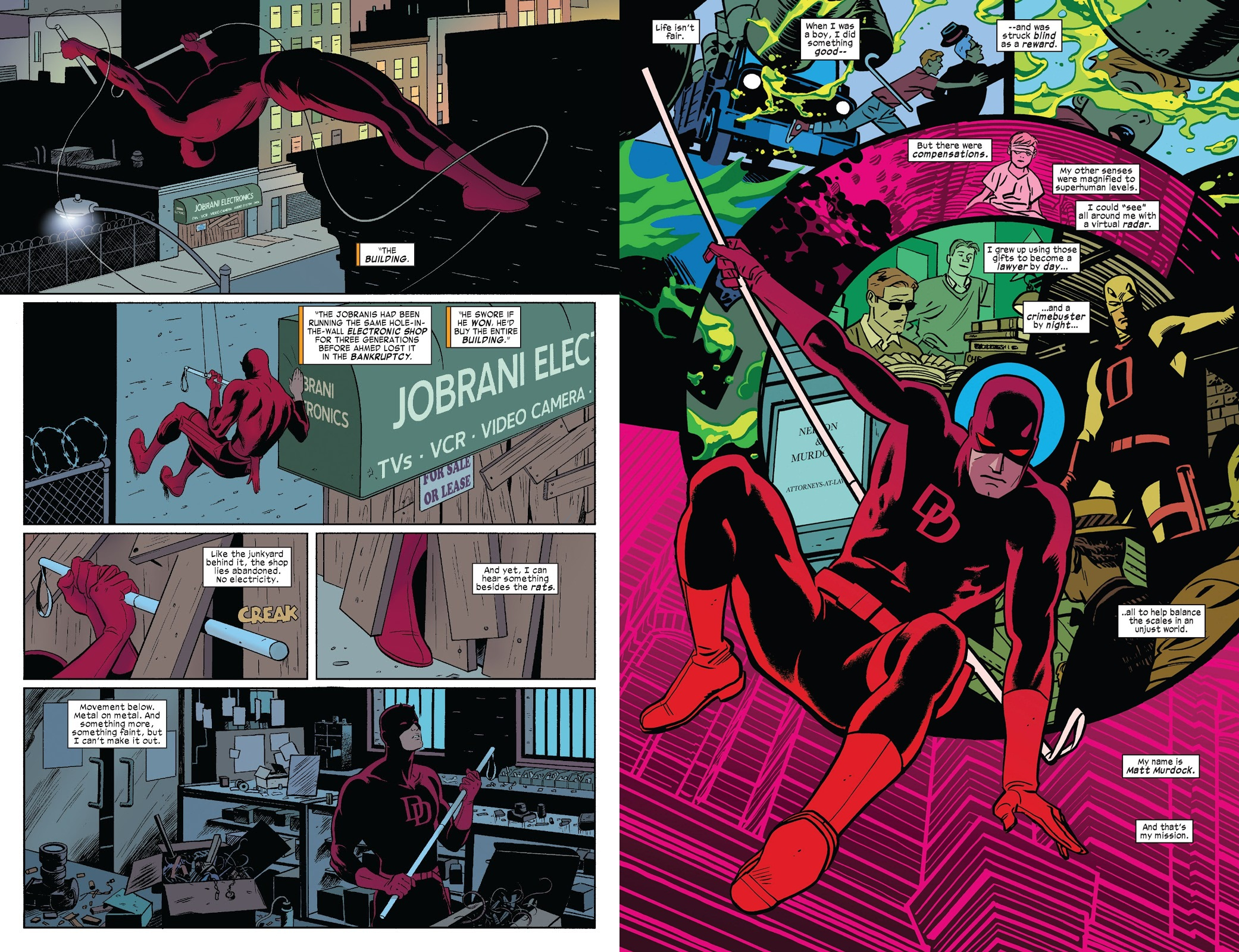 Daredevil by Mark Waid Omnibus Vol 1 review