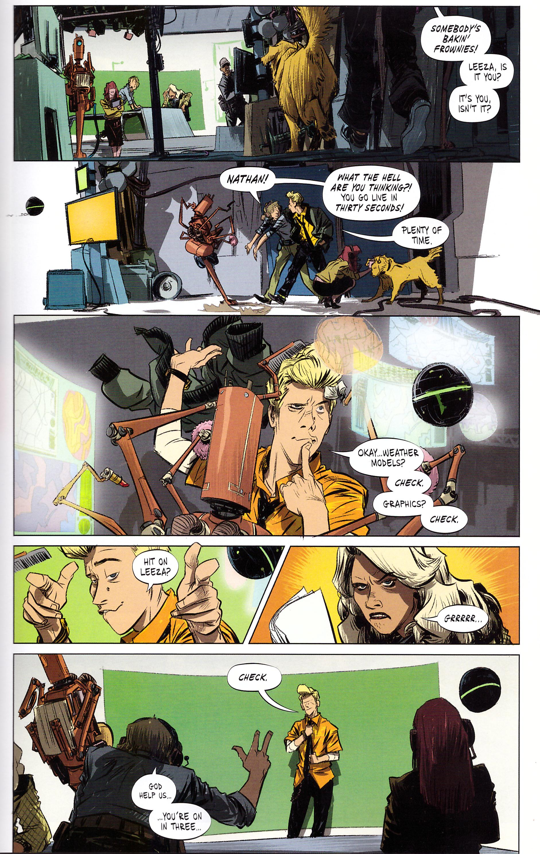 The Weatherman graphic novel review