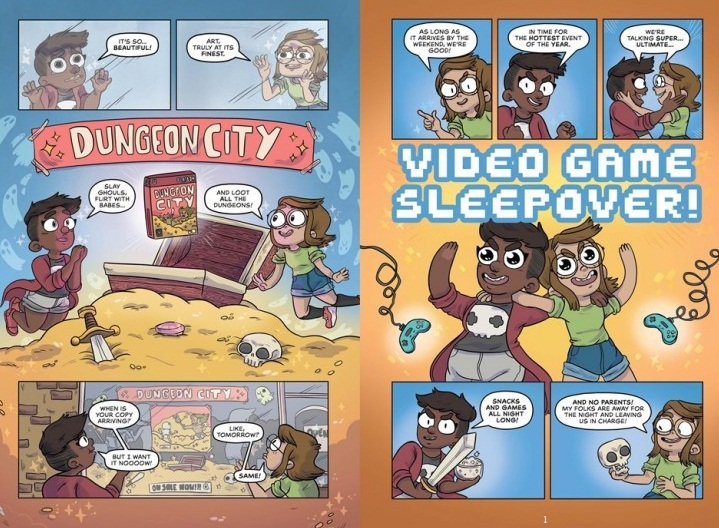 Glitch graphic novel review