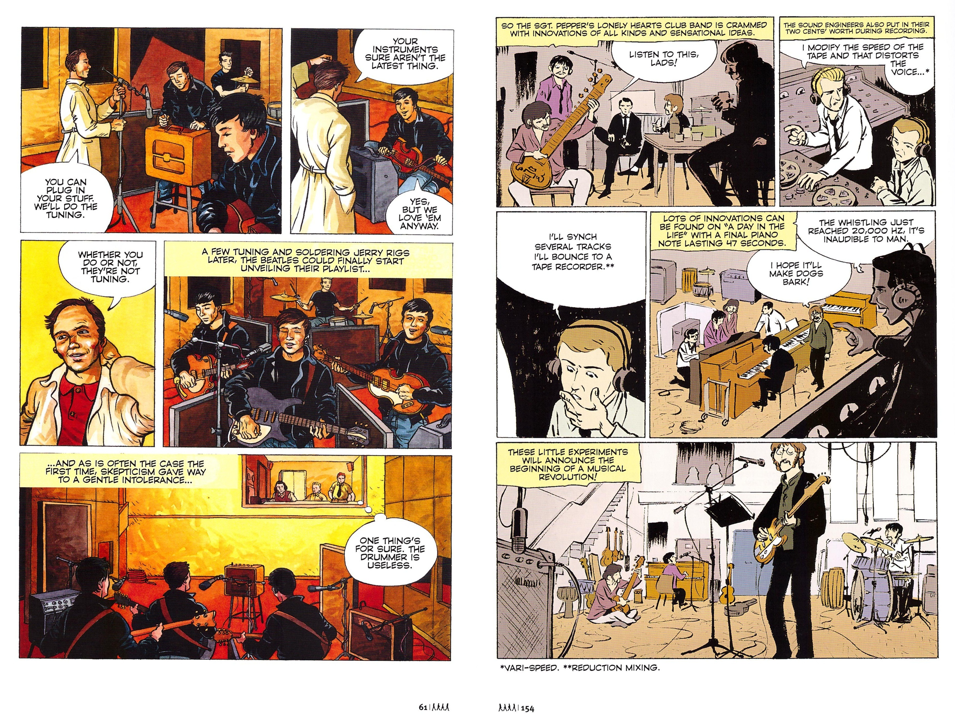 The Beatles in Comics review