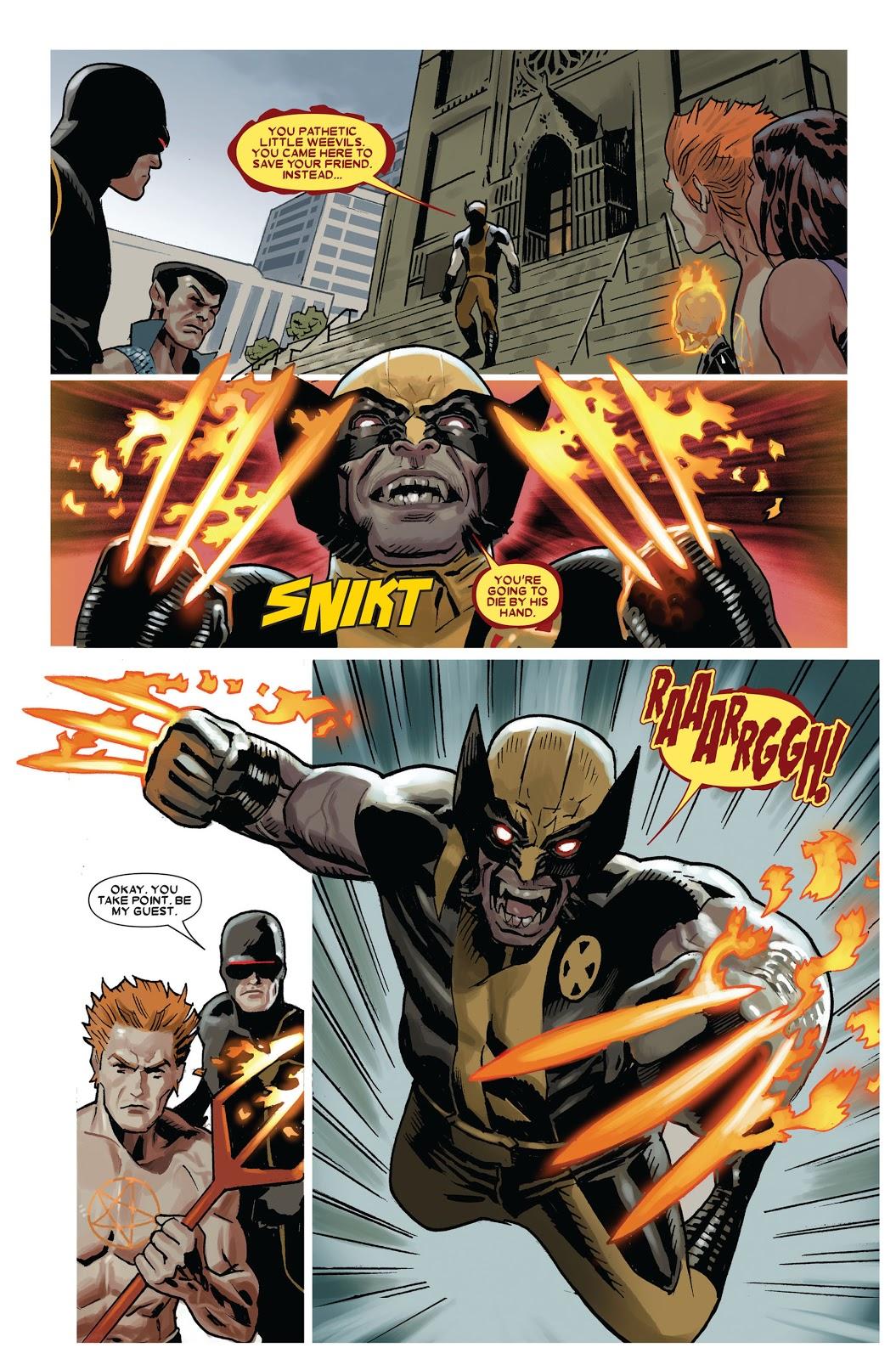 Wolverine vs the X-Men review