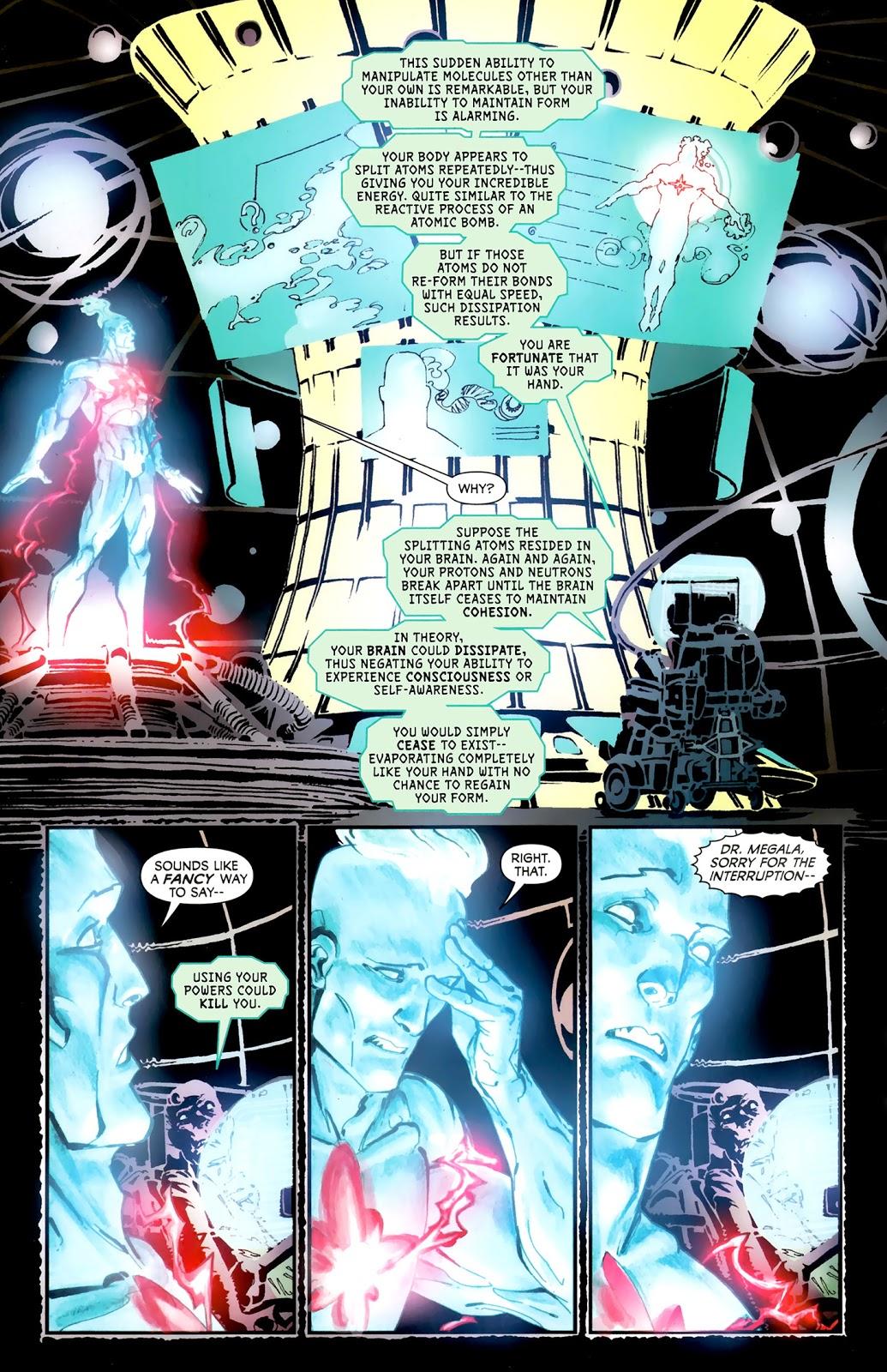 Captain Atom Evolution review